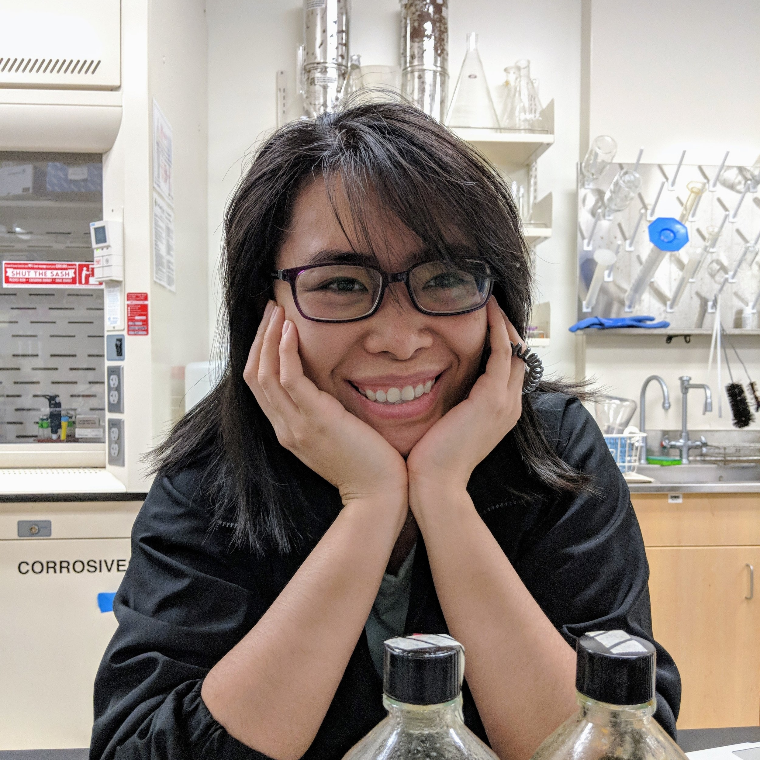 Ahn Le-Cook   B.S. Biology, Portland State, 2016  Studying a new  Sulfurisphaera  species Watching sci-fi and cooking. Now working at the VA Medical Center in Portland as a lab technician.