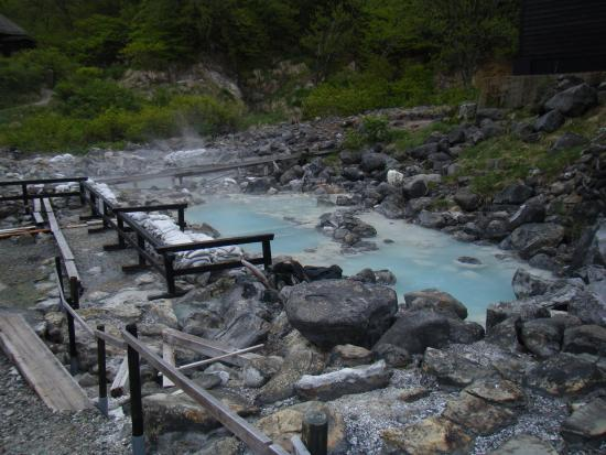 Kuroyu Hot Springs, where our sample came from.