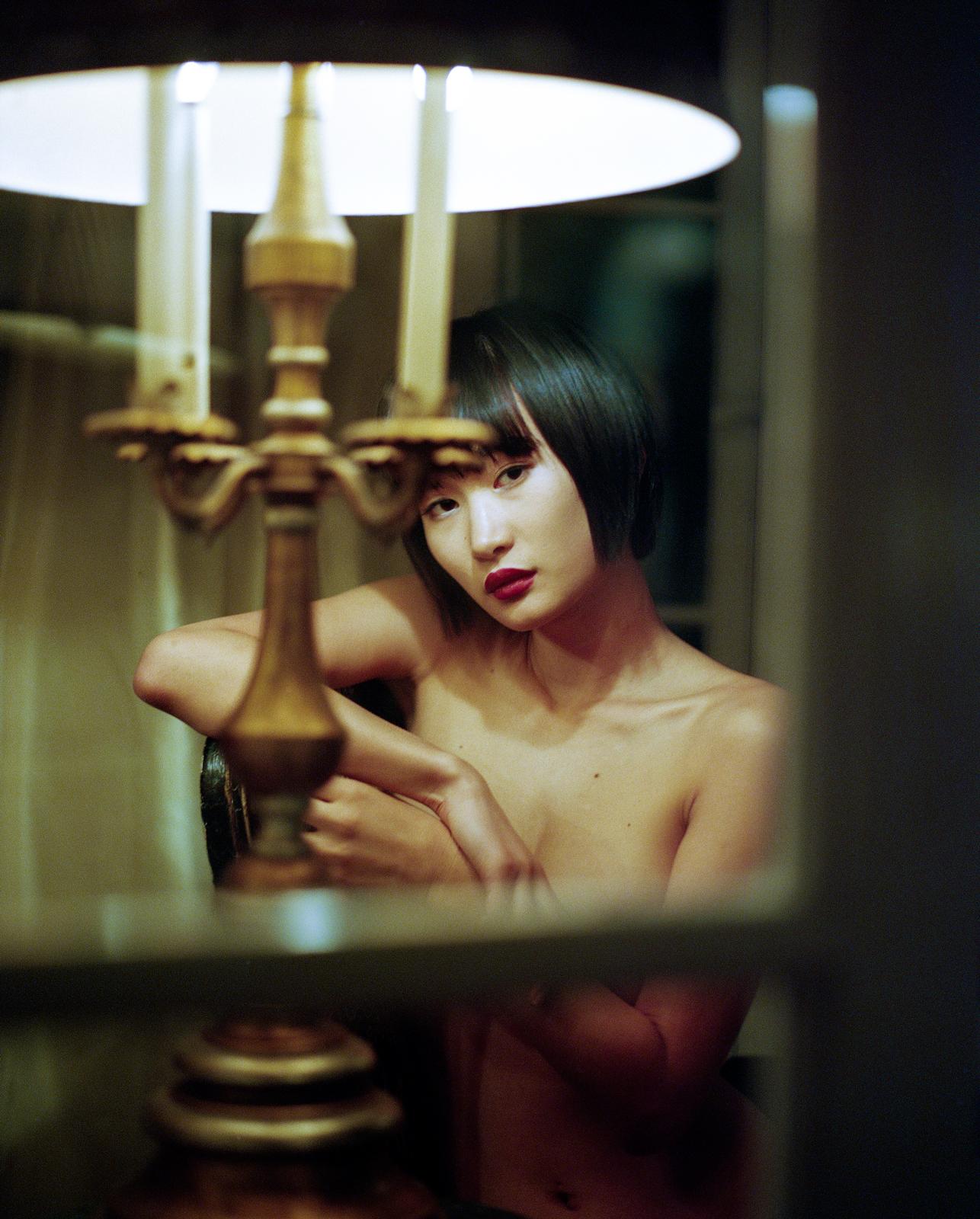 Miki Hamano on film.