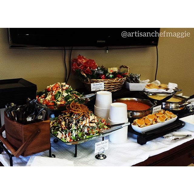We love a well set lunch! Make your next buffet as successful as this one! #food #chef #dessert #passedappetizers #horsdoeuvres #chefsofinstagram #catering #privatechef #appetizers #partyplanning #weddingplanning #weddingfood #weddingwyoming #wyomingwedding #lasvegasfood #lasvegaswedding #delicious #handmade #lasvegas #foodie #wyoming #jacksonhole #starvalley #cheflife