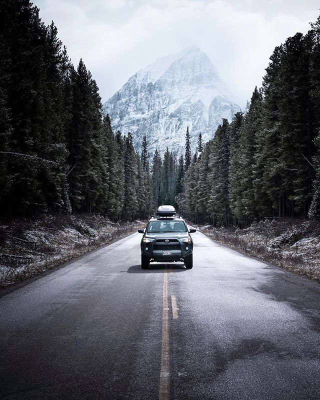 /Runner/ A solid week of sleeping in my car and getting barely any sleep... often times waking up in the morning with a fresh layer of snow on the ground. Can't wait to get a chance to go back to the Canadian Rockies and check out more of the Provincial parks! . . . . #forbiddenart #forbiddenart #gramslayers #voyaged #createexplore #widenyourworld #banff #banffnationalpark #visualsofearth #lensbible #artofvisuals #passionpassport #explorecanada #explorebc #explorealberta #canadianrockies #4runner #4runnersdaily #4runnernation #getoutchallenge