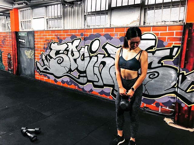 Our dope X-Train/Boxing room. #amazinggym #streetart #5pointz #newmarketauckland #fitness #gyms #botiquegym #workout