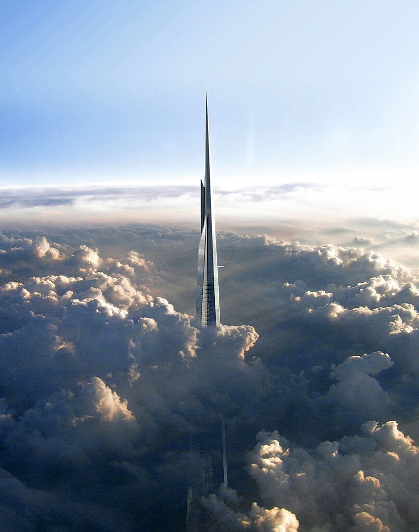 Jeddah Tower, worlds tallest building scheduled for a 2020 completion date.