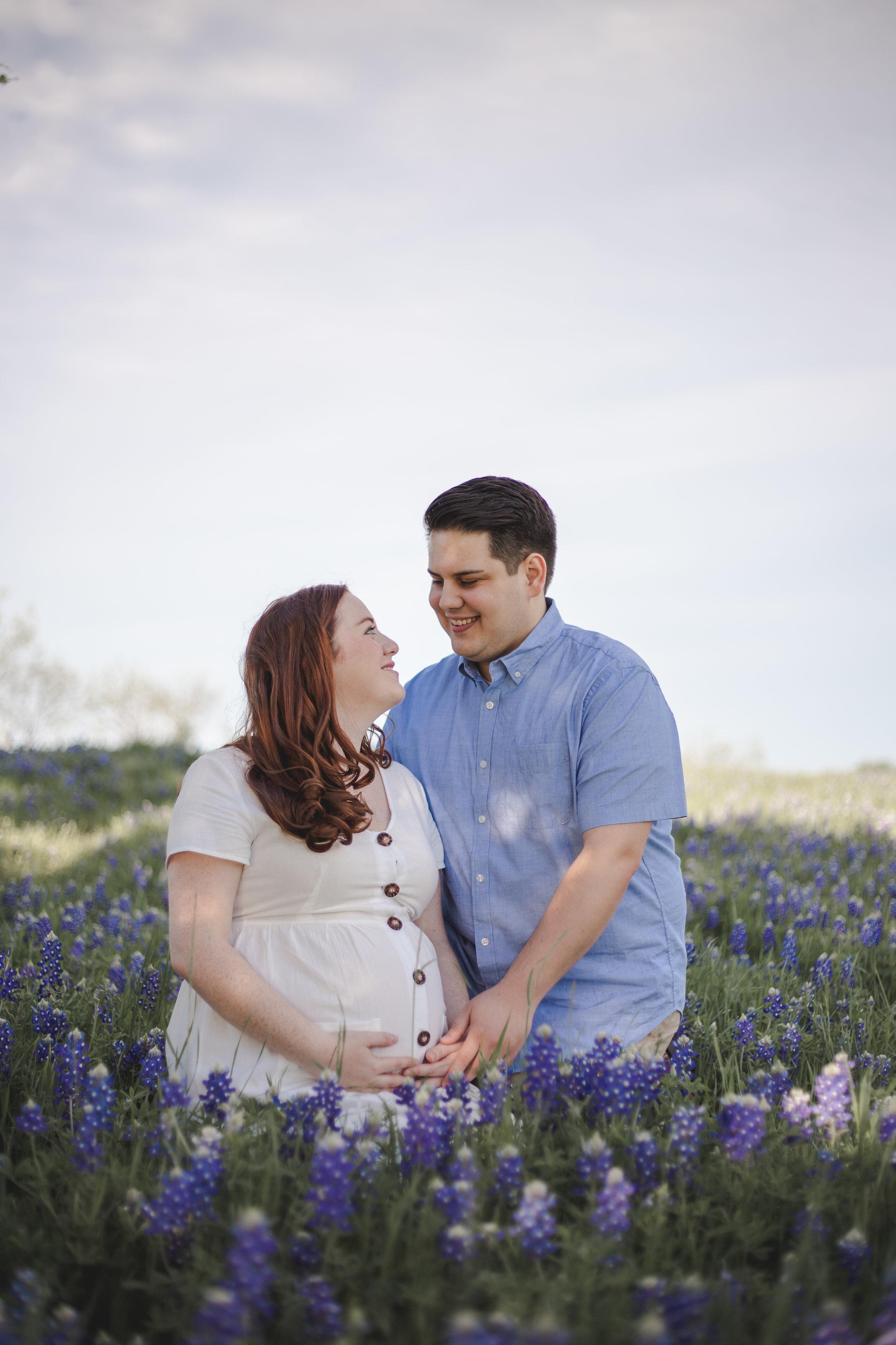 ennis bluebonnet photographer texas maternity photography
