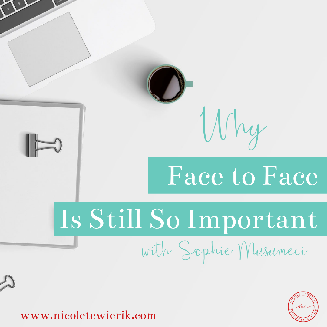 Why face to face is so important in business
