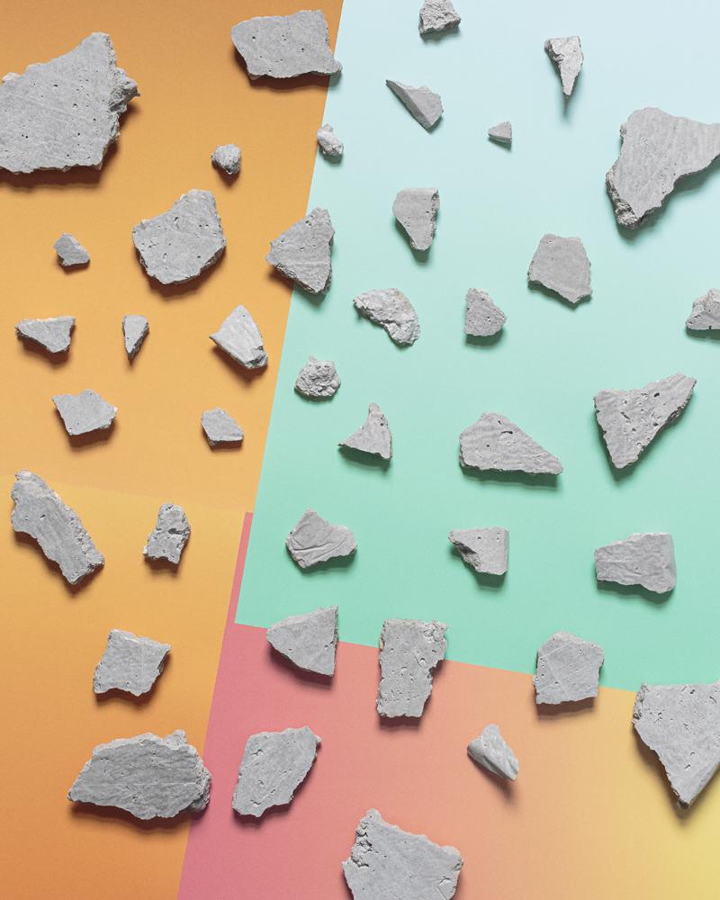 Concrete Composition (Series 1) #4