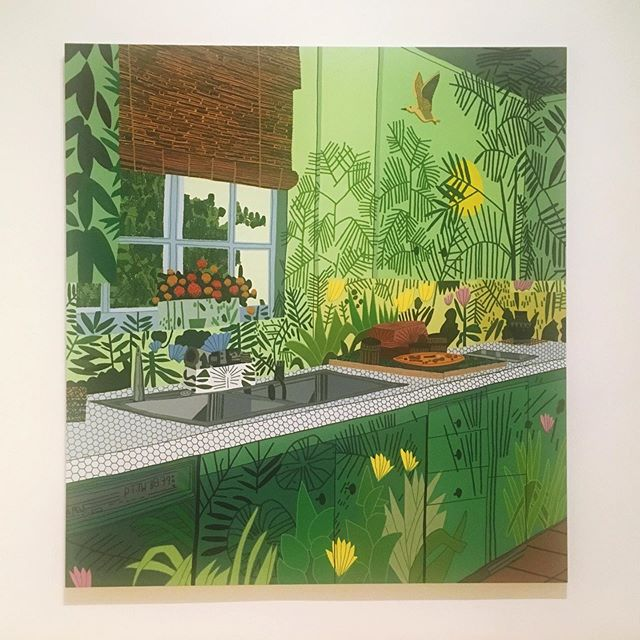 Jungle Kitchen — Jonas Wood #mocagrand #DTLA