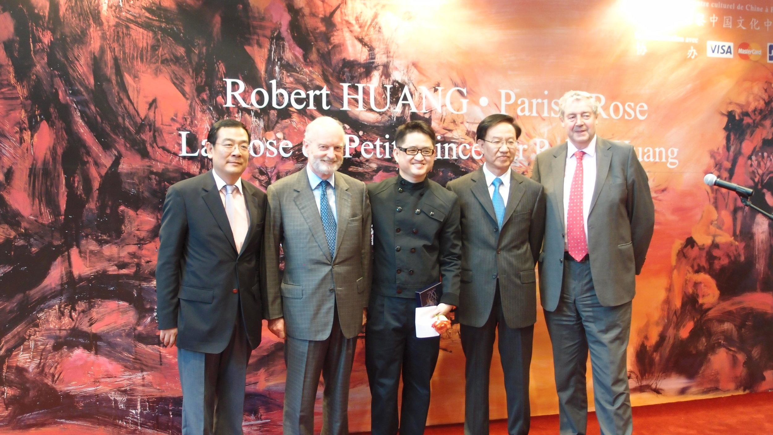 2011年 法国 巴黎 中国文化中心 Robert Huang 黄腾辉个展