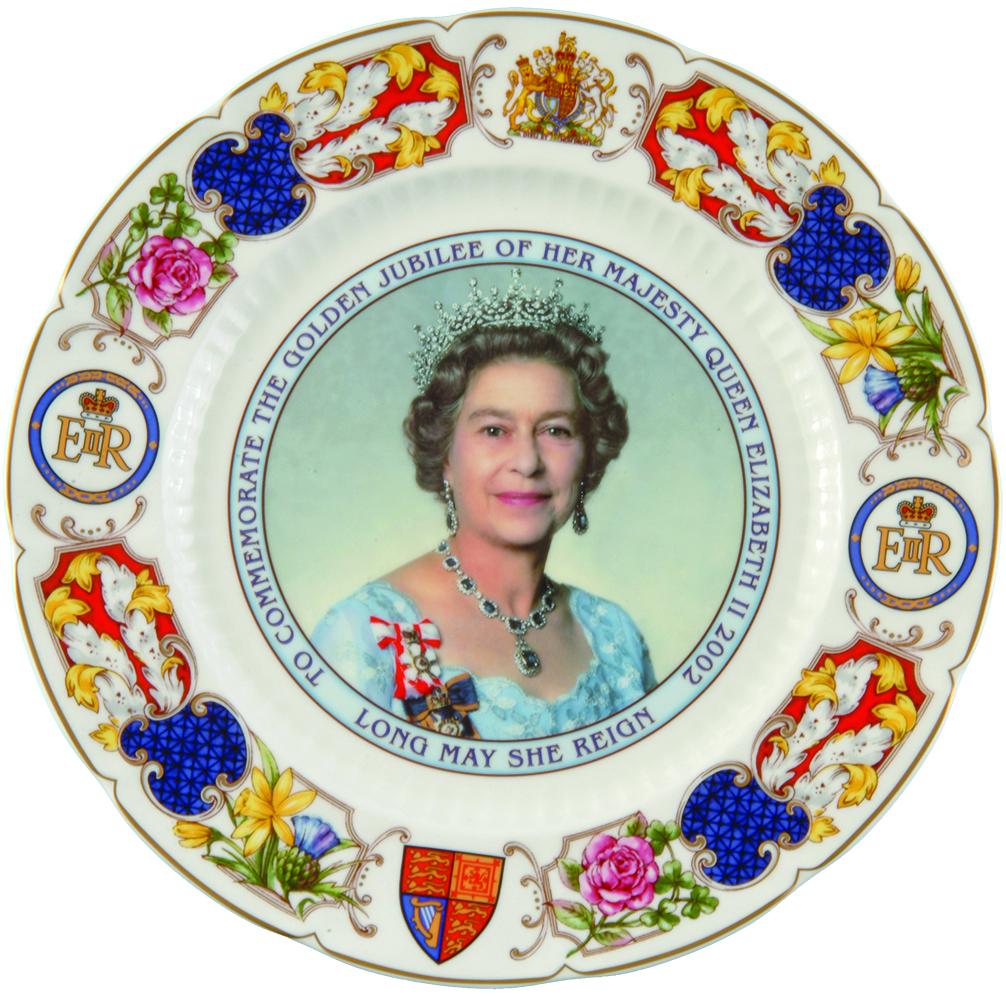 2002 To Commemorate The Golden Jubilee of Her Majesty Queen Elizabeth Ⅱ - Robert Huang