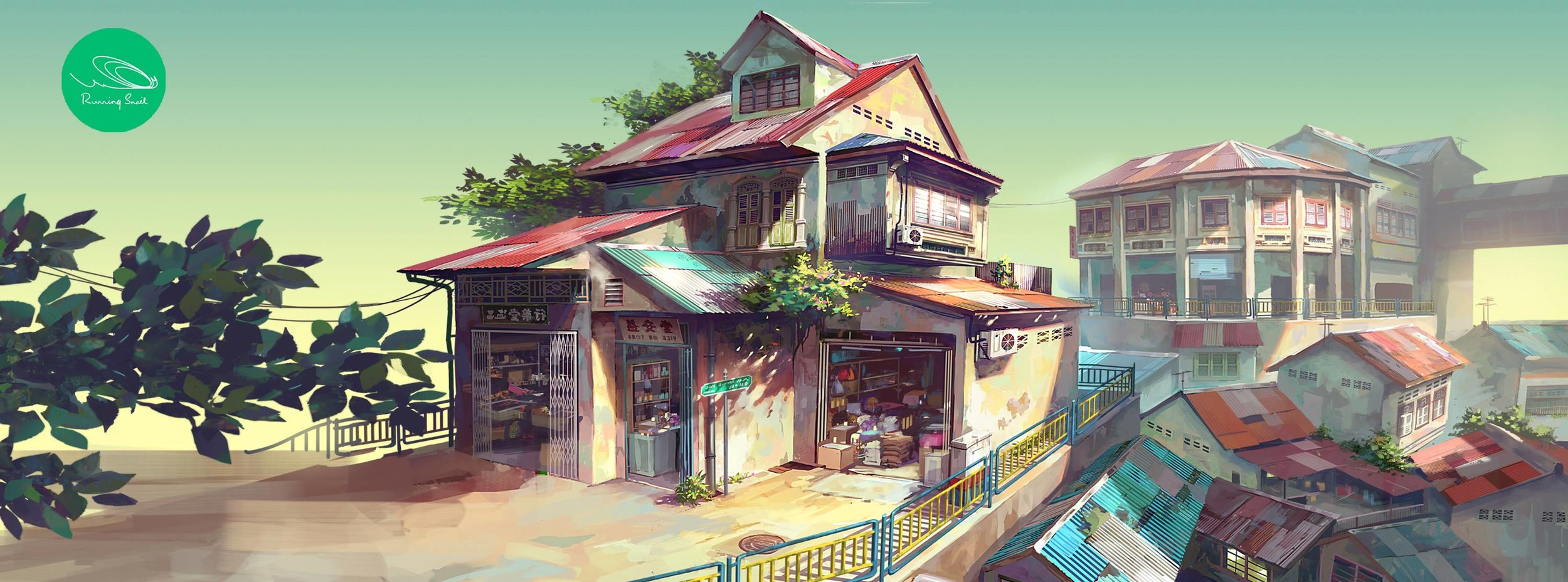 Illustration by :  Chong Fei Giap