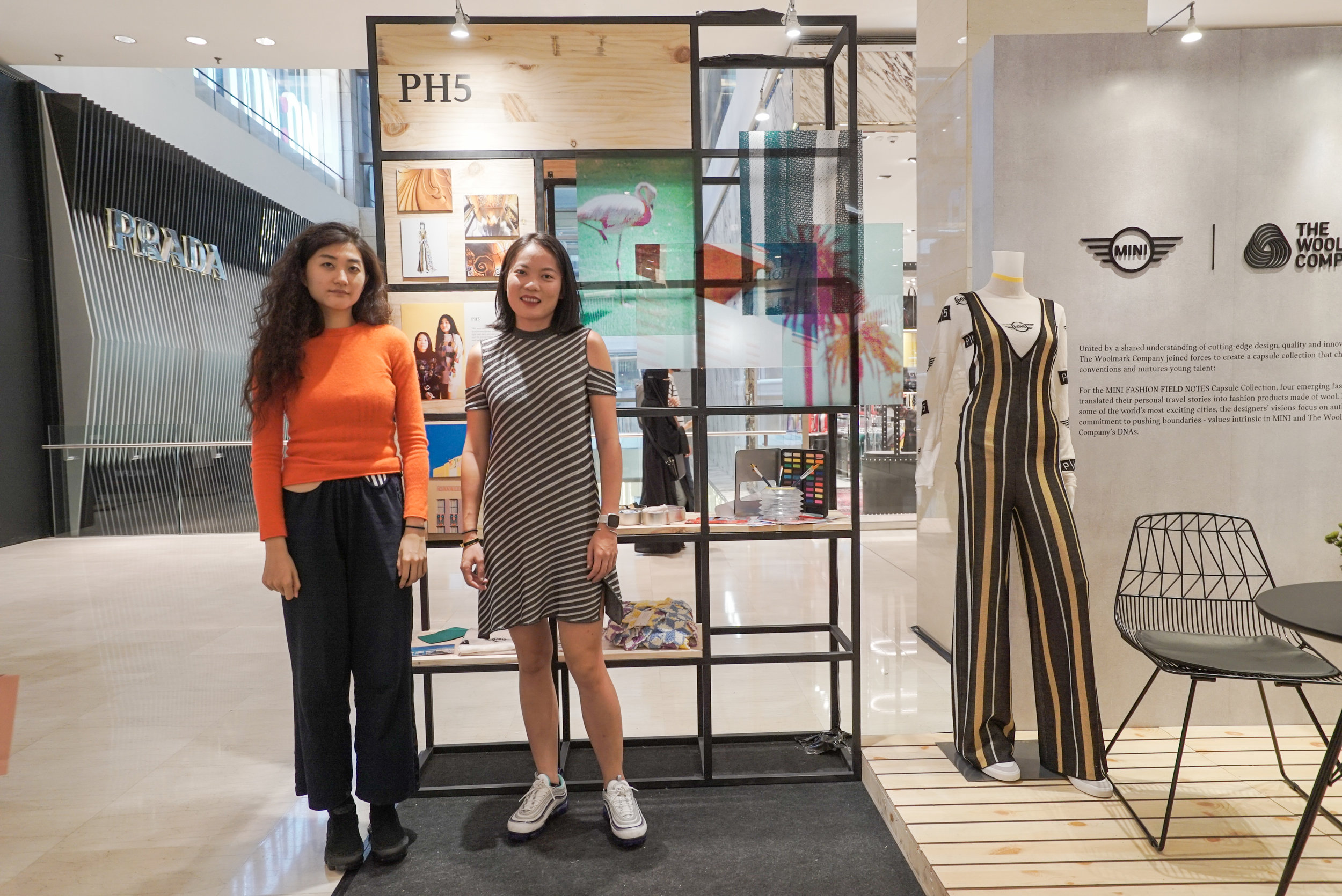 Mijia Zhangin and Wei Lin of PH5