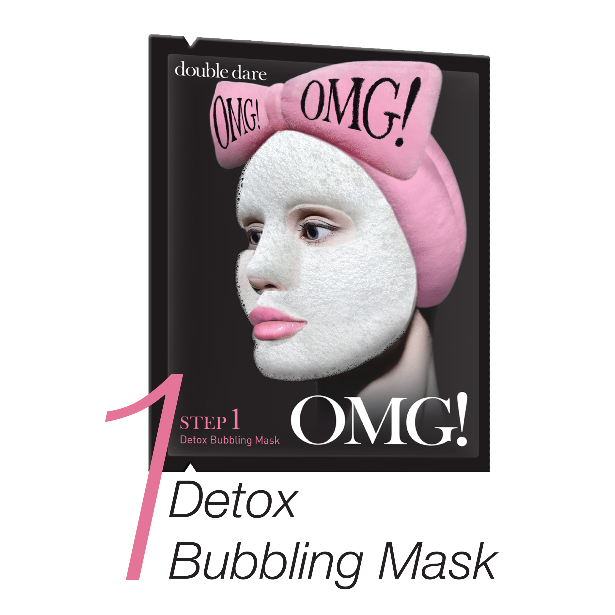 1.    Detox bubbling Mask