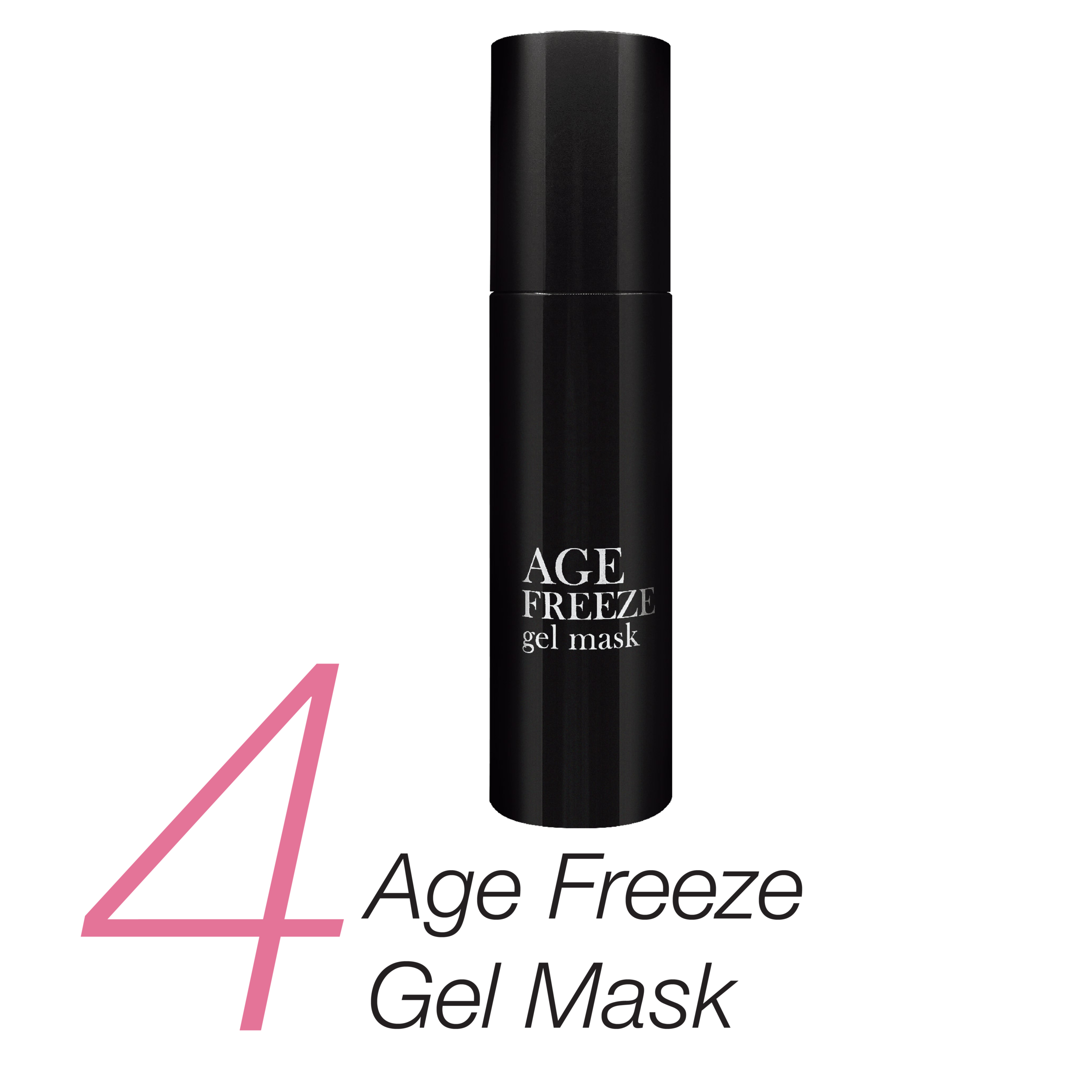 4.    Age Freeze Gel Mask