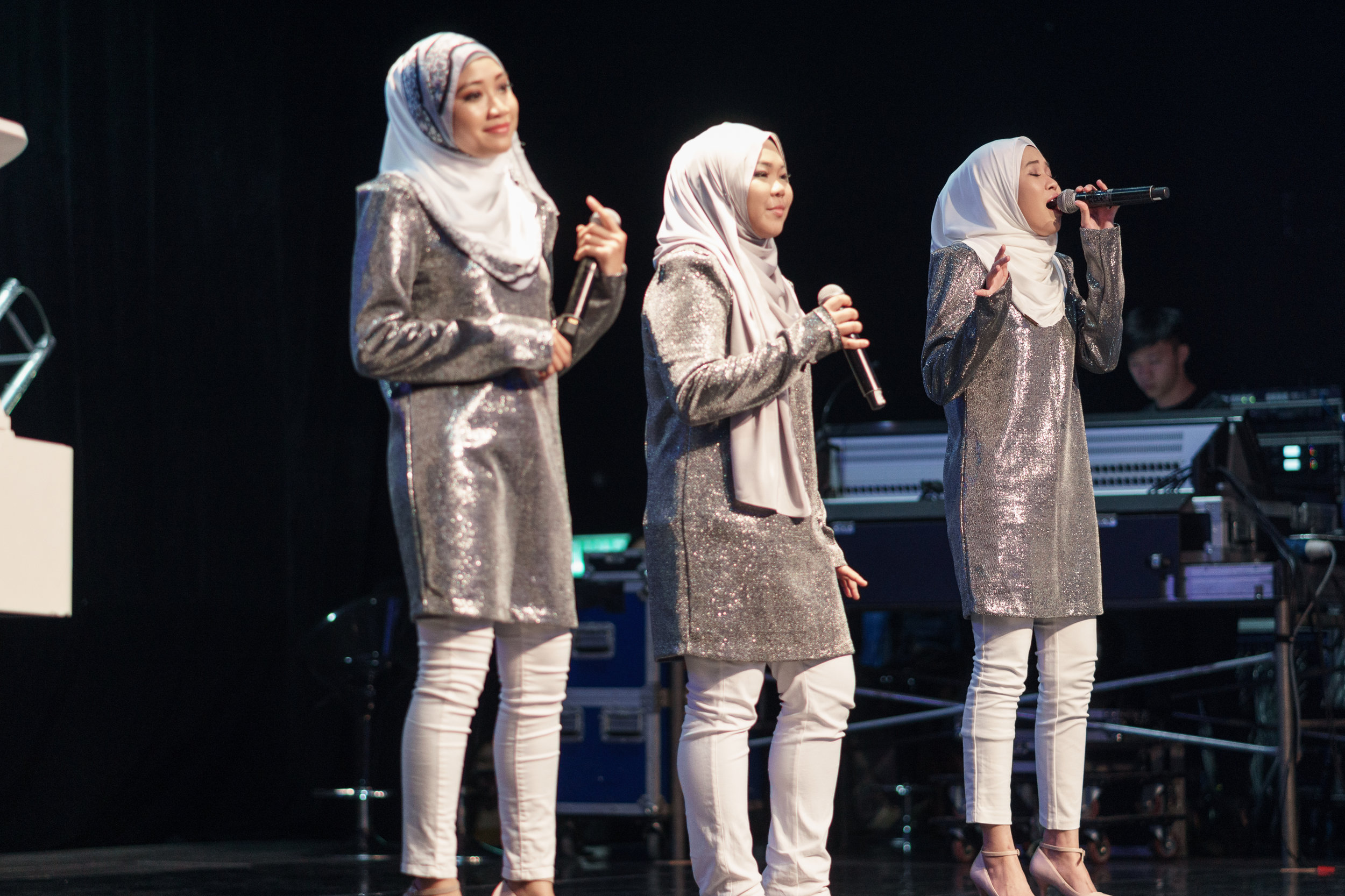 The dynamic group NAMA, who made it to the finals of Asia's Got Talent 2019.