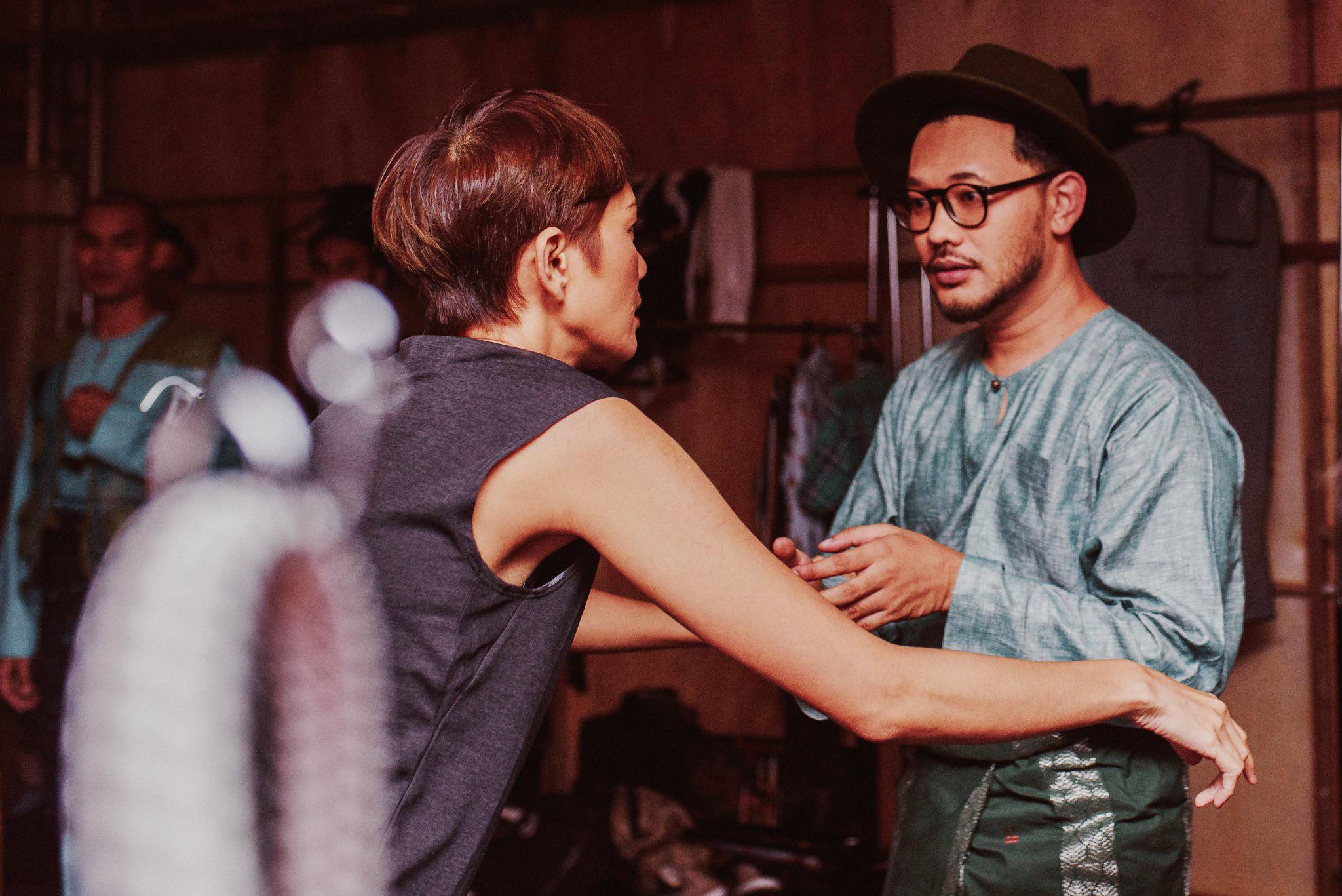 Karl Shafek Ibrahim & Malaysian Supermodel Tinie @ GKR 2019 (Behind the Scene)