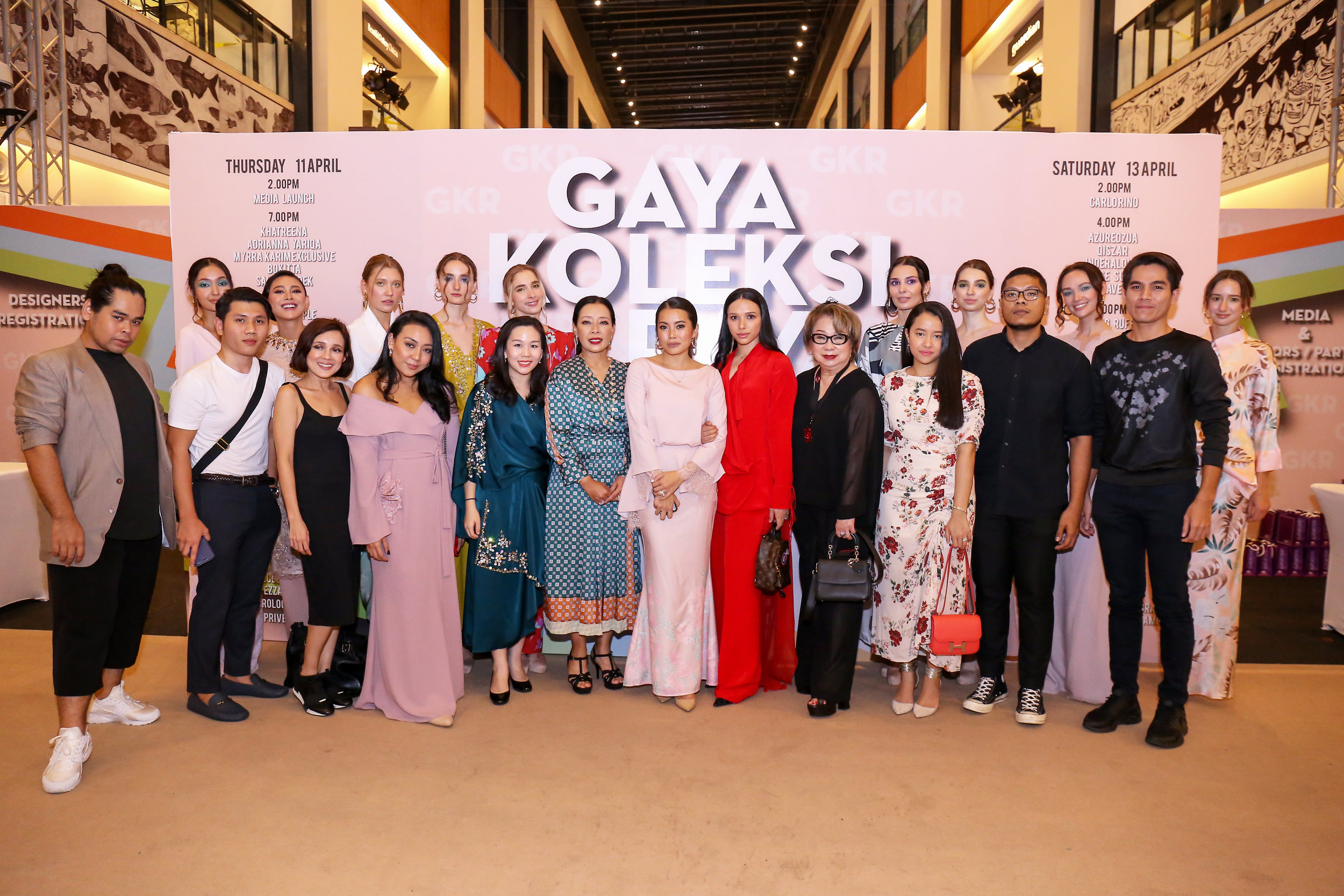 (L-R) : Nurita Harith, Alia Bastaman, Yiu Lin, Afiq M & Petra