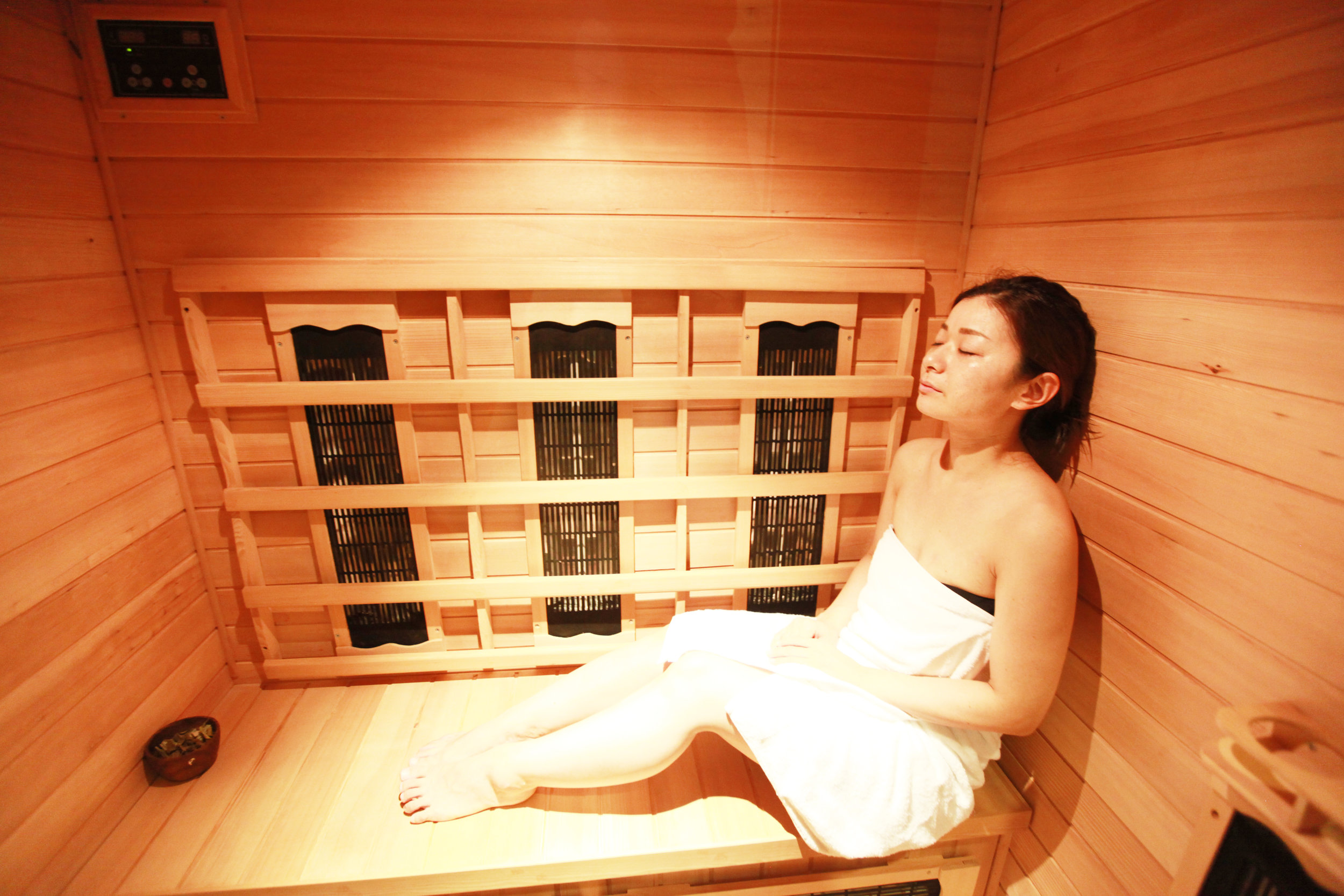Sometimes, the best thing to do is just to call it a day and go for a sauna
