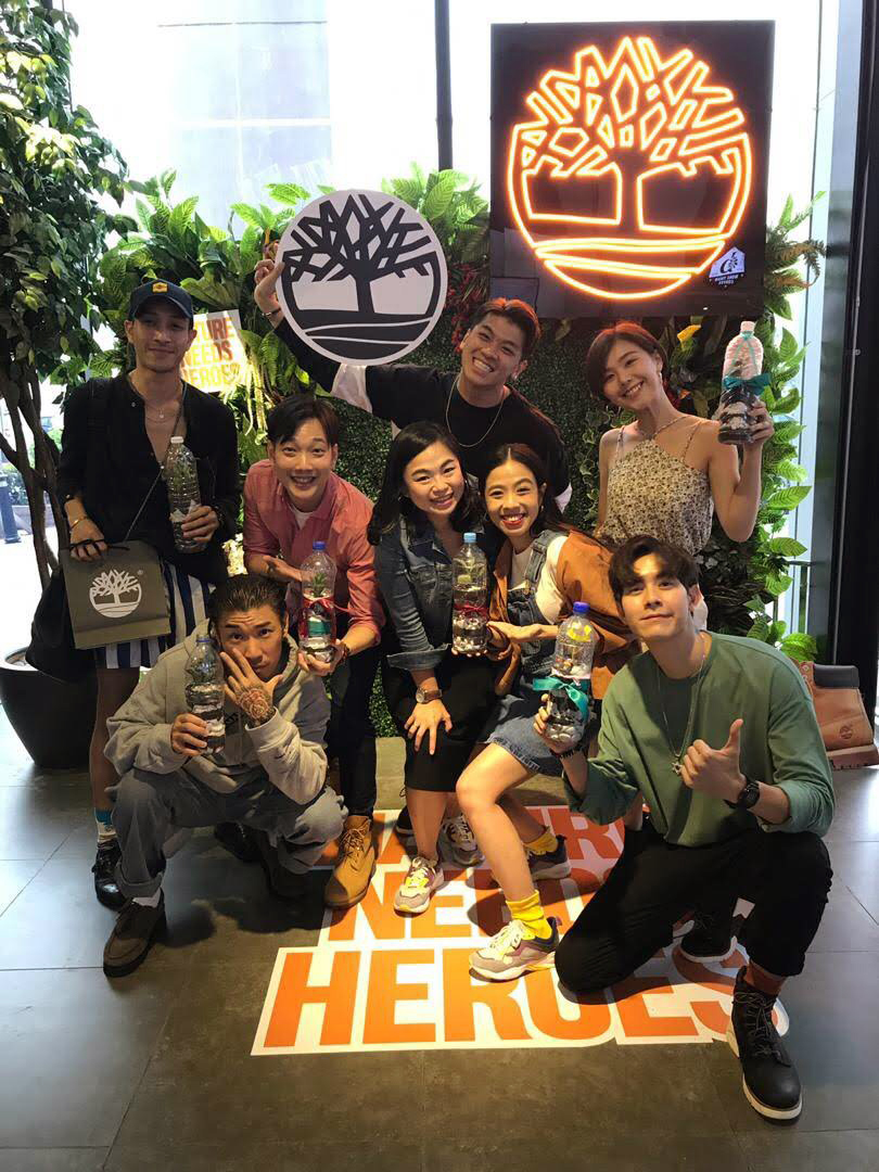 Timberland Friends and Family with Brand Marketing Manager (SGMY), Karen - (from left - right) Tengku Shami, Jeremy Teo, Ethan Chu, Dennis Yin, Chrystina Ng, Sherlyn Seo and Wilsom Lee.jpg