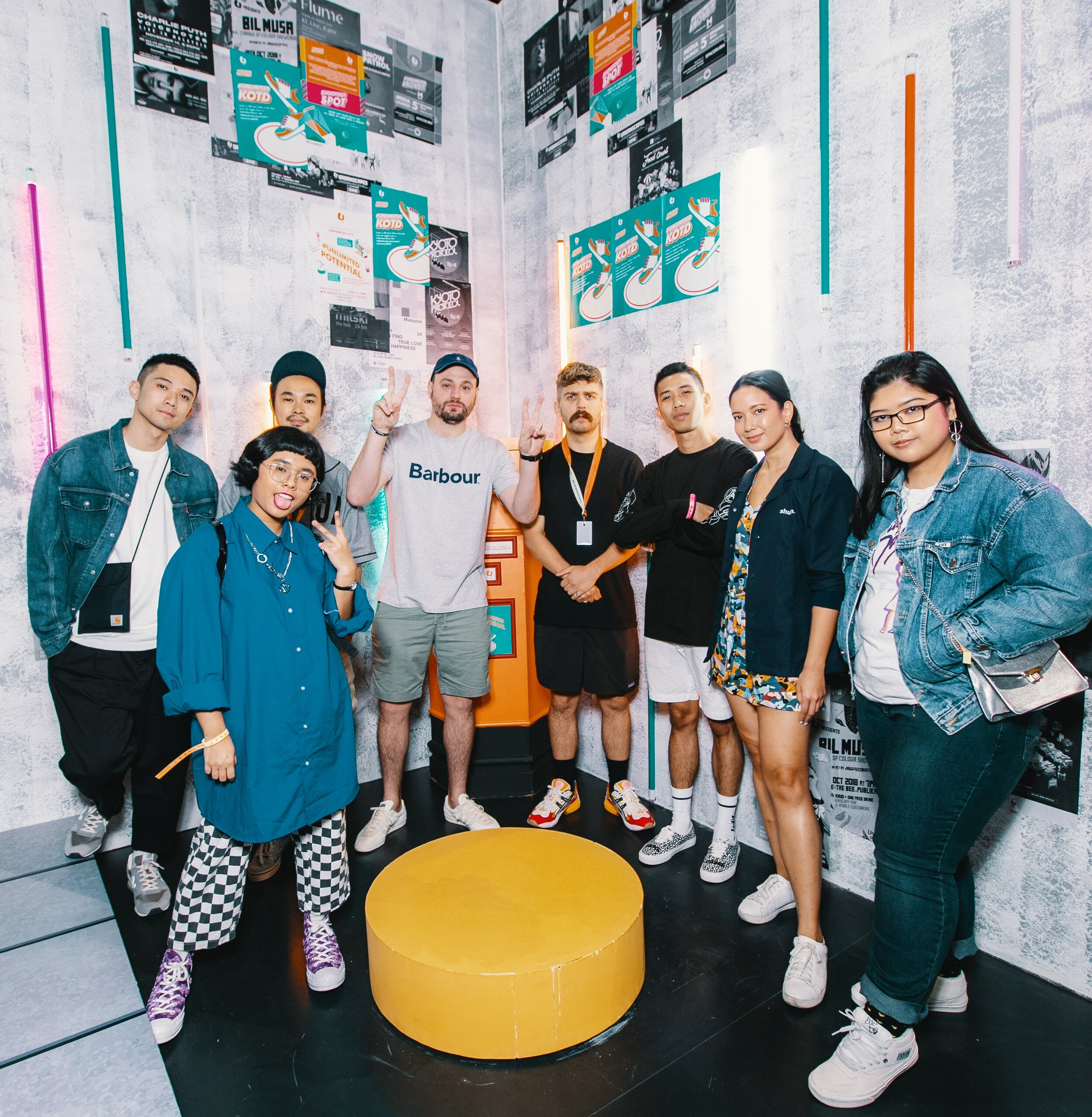 U Mobile x Sneakerlah 3:  Fans and guests even got to meet Brendan Dunne and Matt Welty of popular sneaker talk show, Full Size Run. Full Size Run's participation at SneakerLAH 2019 was made possible by U Mobile.