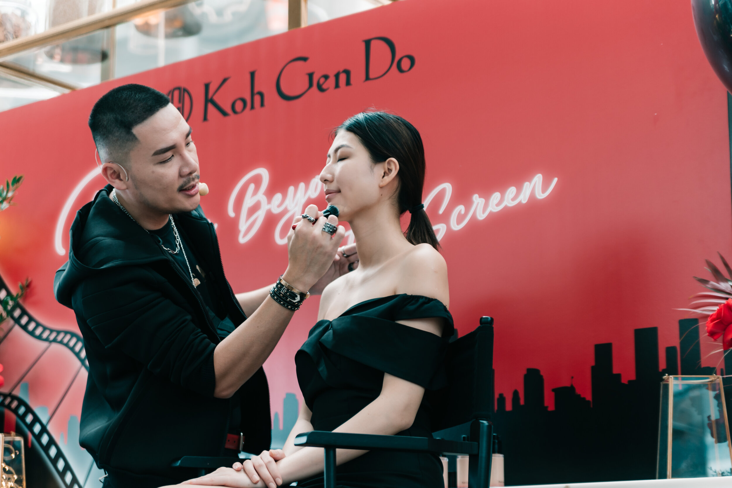 Gary Cheok, Celebrity Makeup Artist shares makeup tips using Koh Gen Do's best sellers, which integrates the planet's most precious botanicals with Japanese skincare technology to nourish and protect one's complexion's natural ability to regenerate.