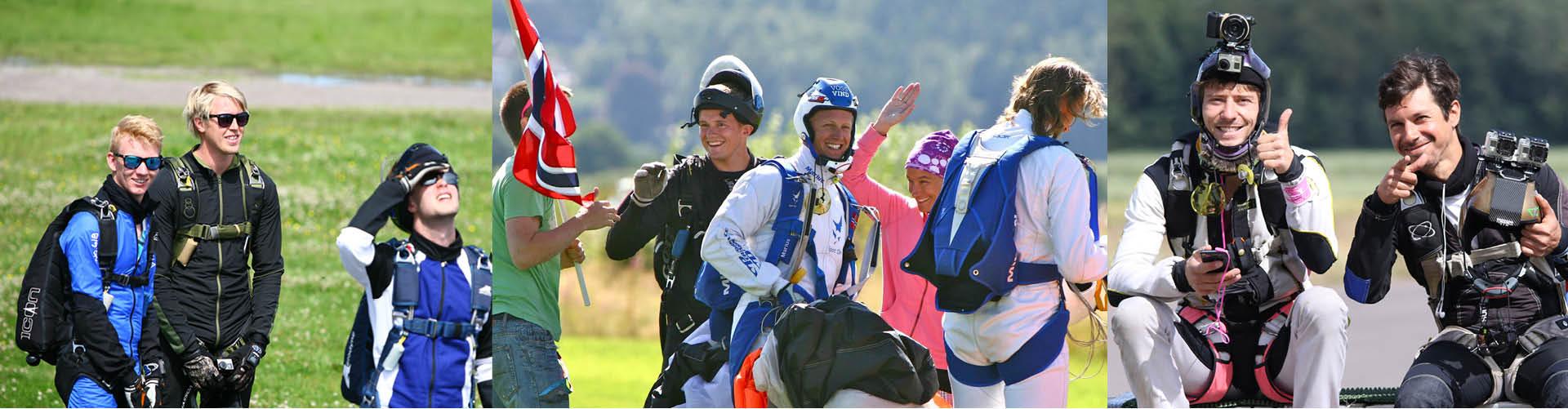skydive tønsberg fallskjermklubb kurs