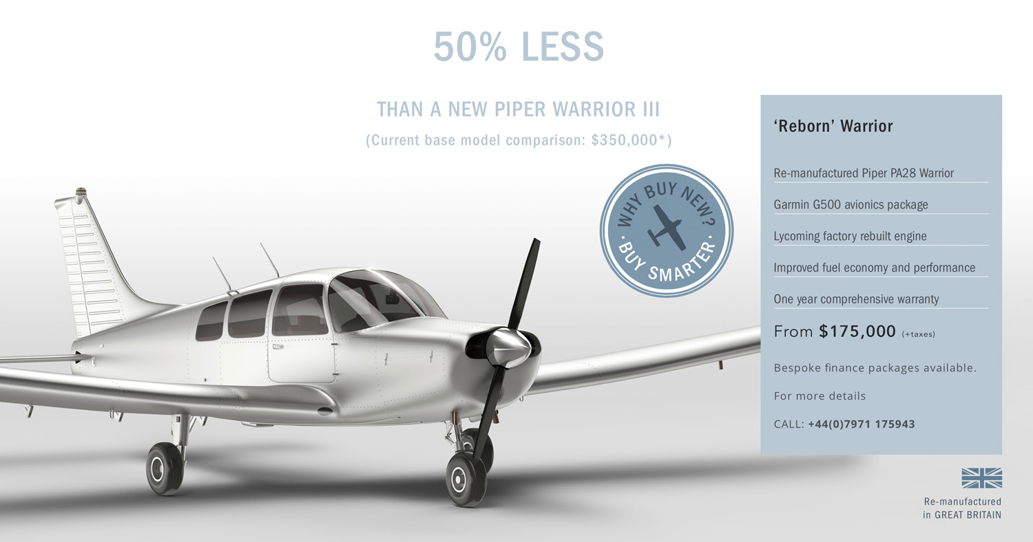 Reborn Aviation Re Manufacturing Piper Warrior aircraft
