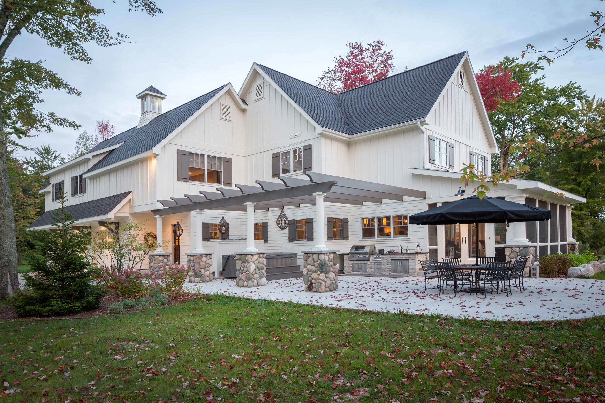 Northern Michigan custom home and remodeling portfolio by builders and contractors, Birchwood Construction.