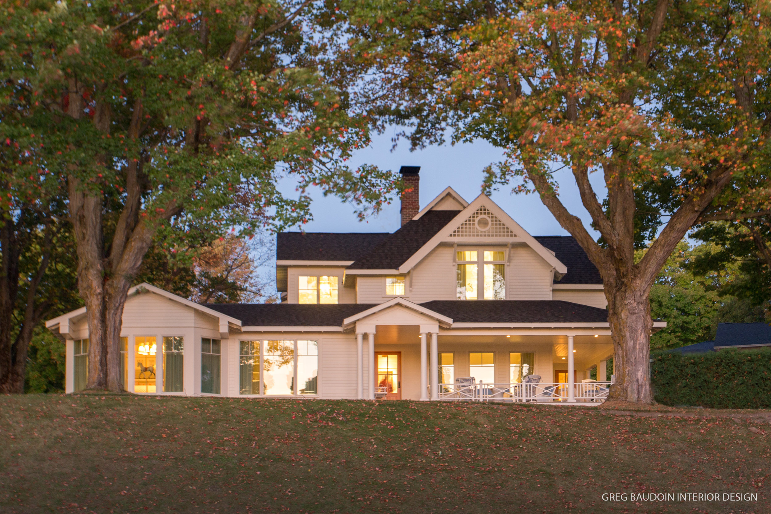 Charlevoix custom home and remodeling portfolio by builders and contractors, Birchwood Construction Company.