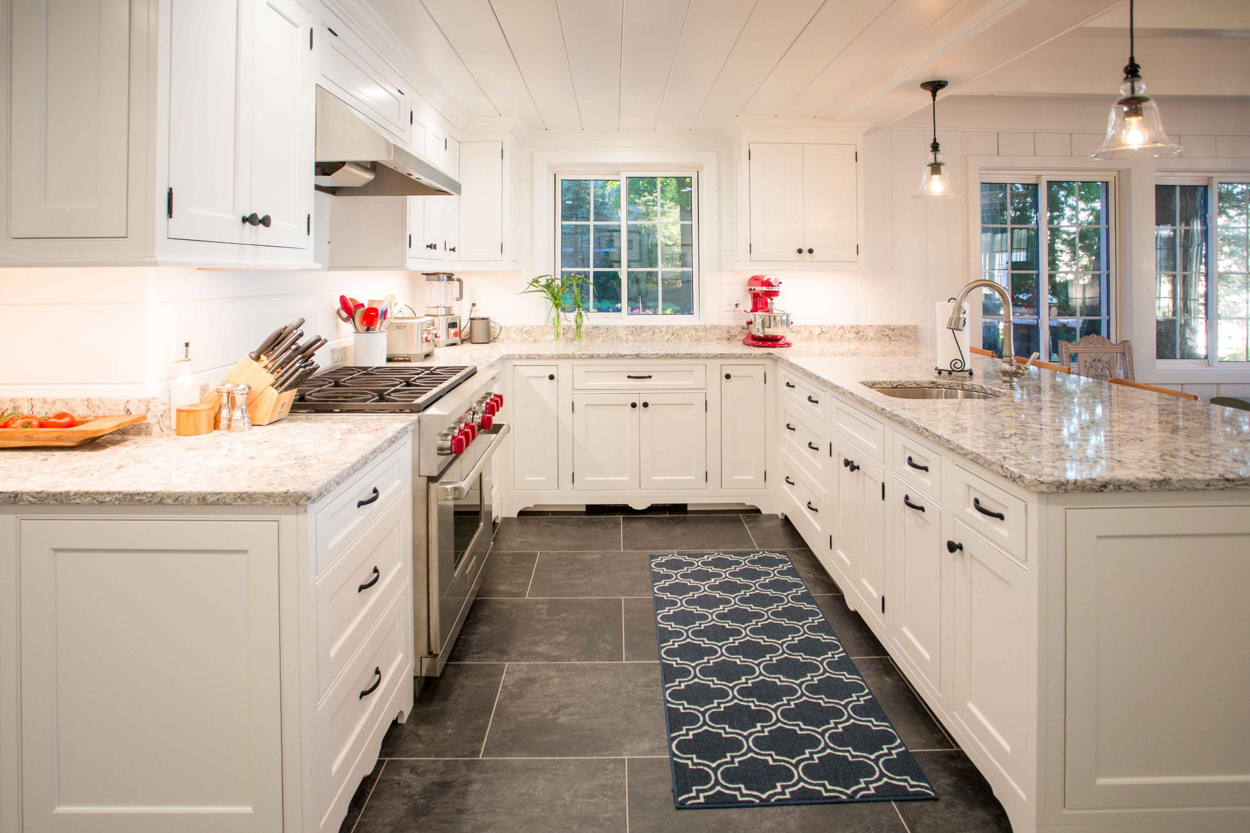 White Cottage Kitchen Remodel -