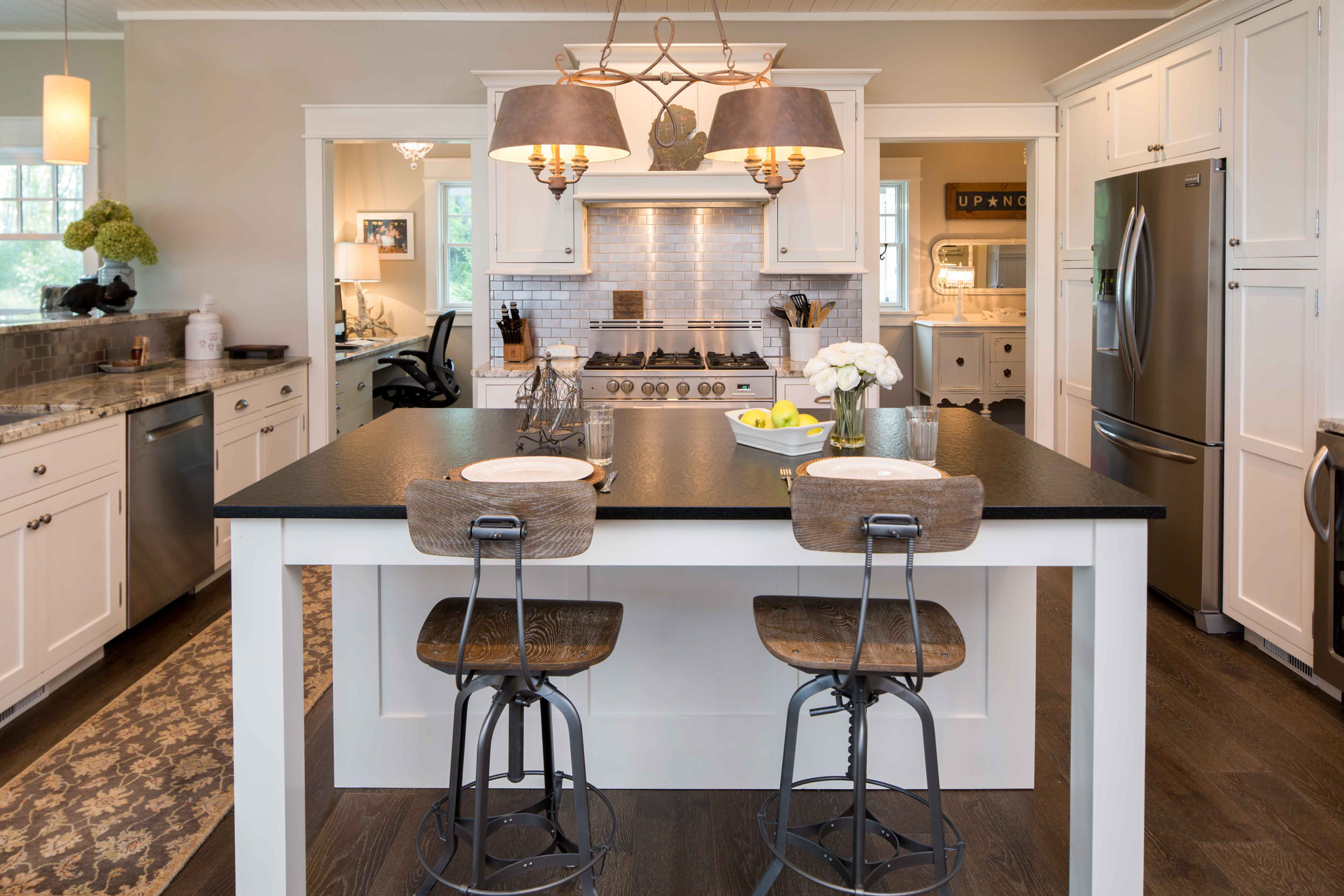 Warm and Inviting Cottage Remodel -