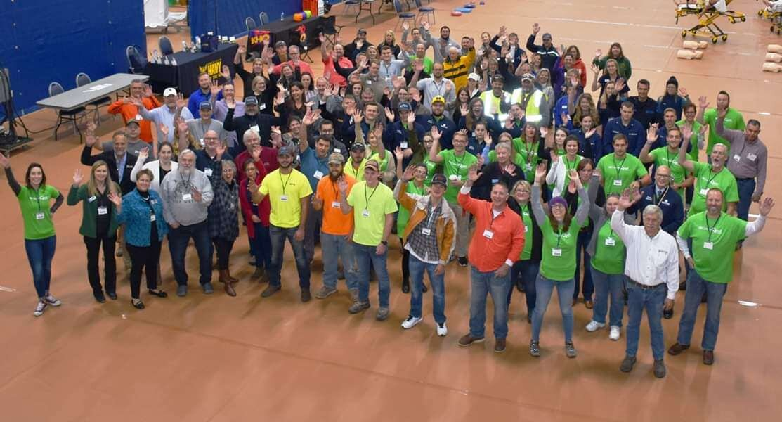 Members of the Birchwood Construction Family recently participated in the 2019 MiCareerQuest Char-Em ISD