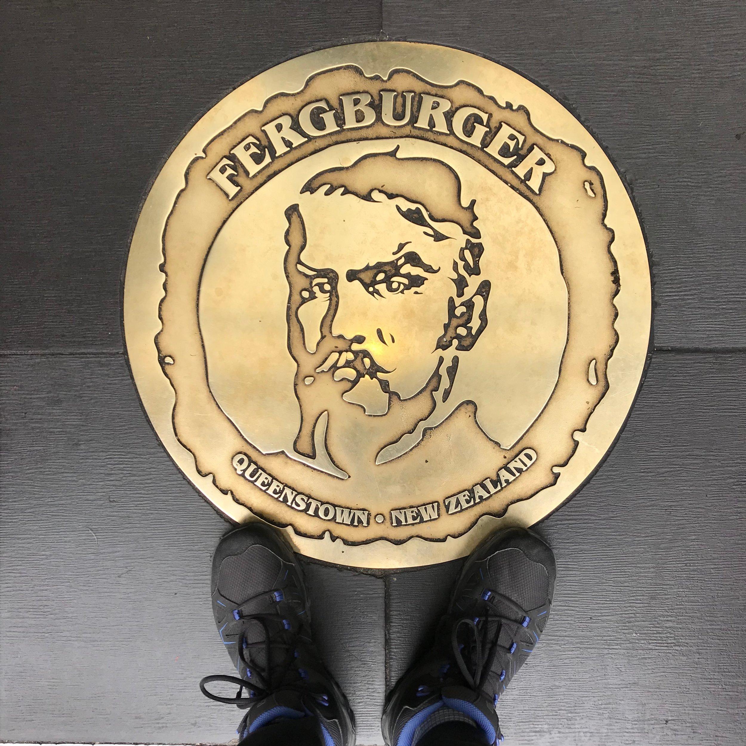 The floor of the now infamous Ferburger, Queenstown.