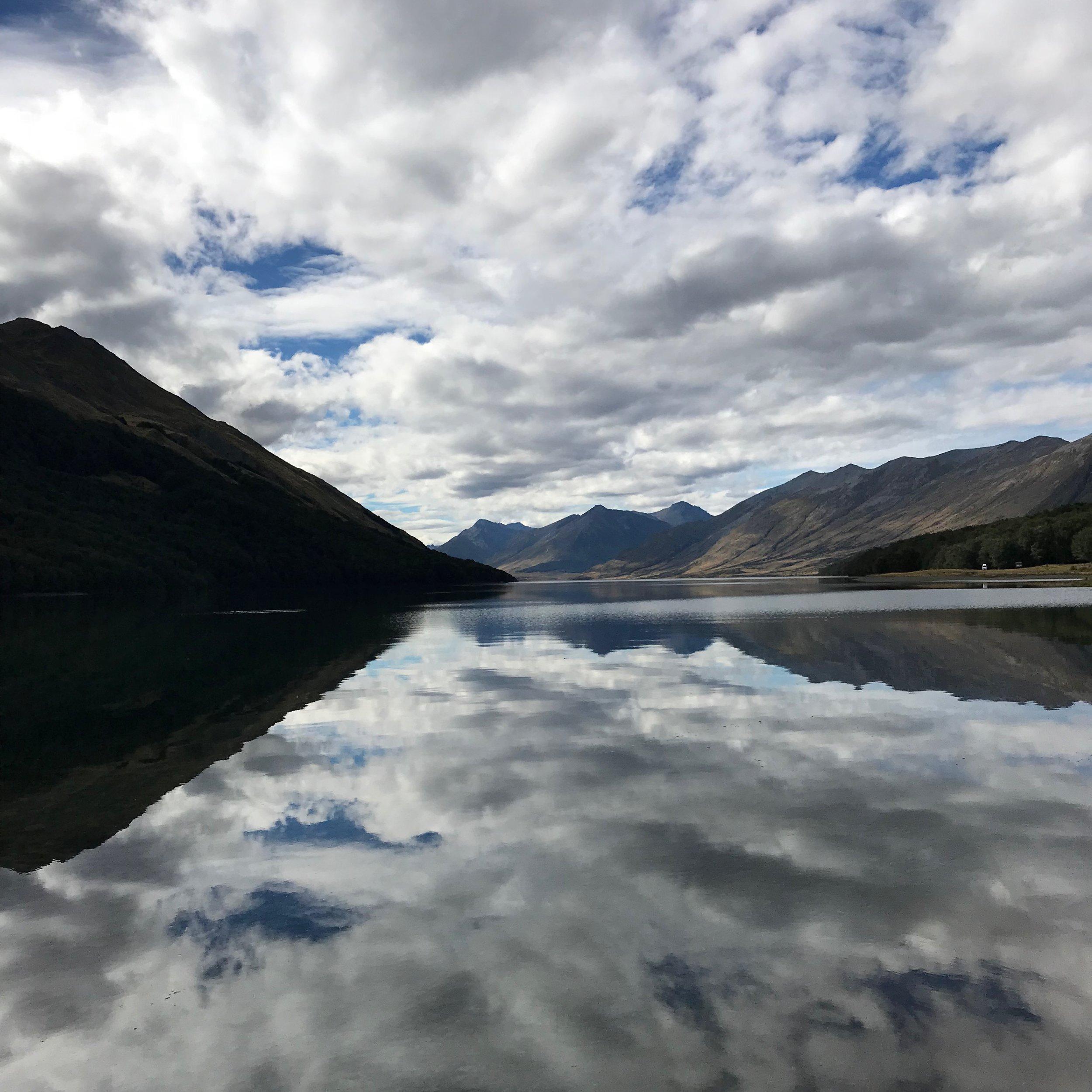 Mavora Lakes, or should I say Mirror Lakes.