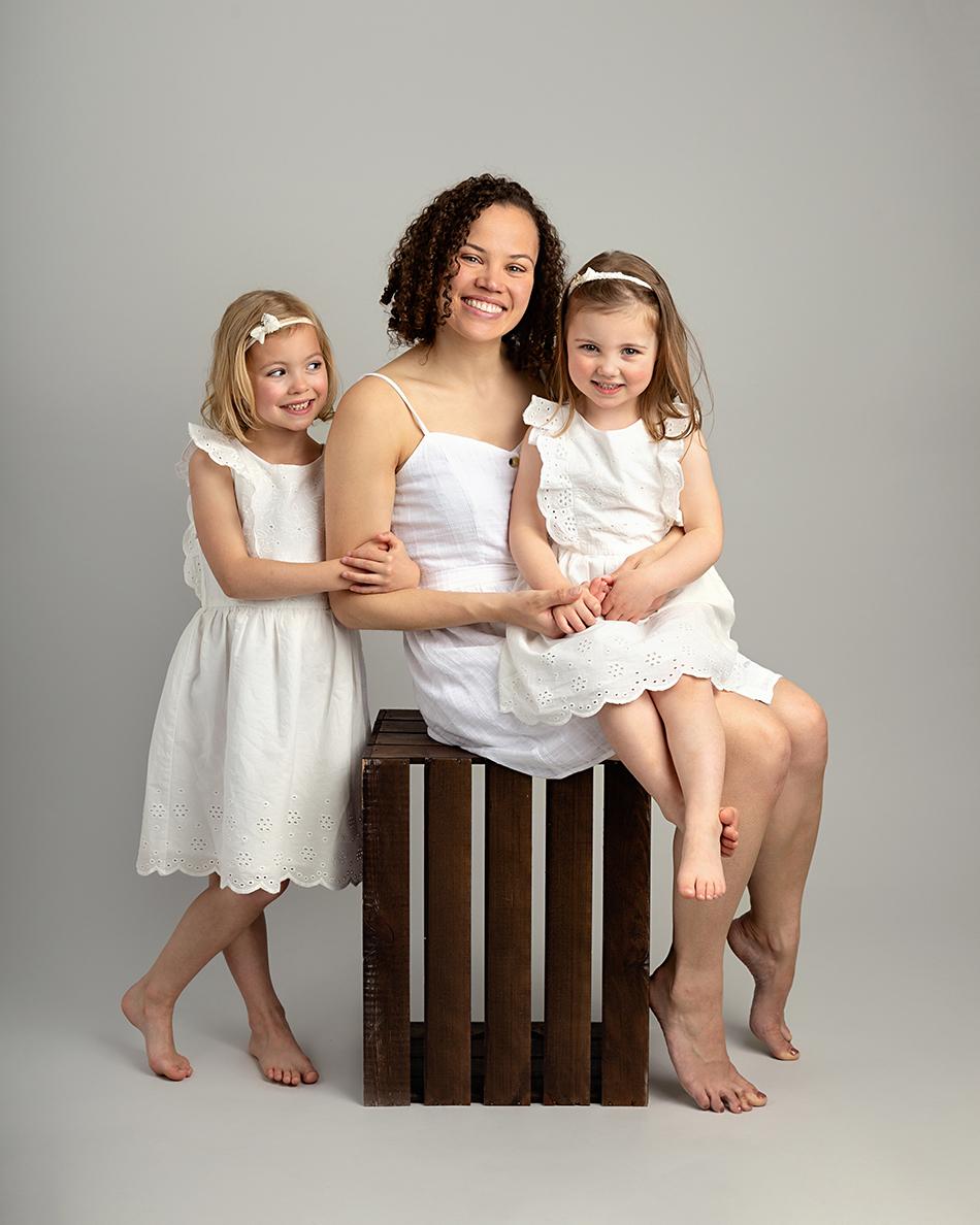 Family studio photoshoot Elisabeth Franco Photography