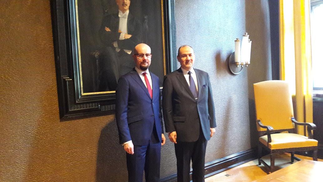 Jukka Kuusala, Chairman of the Board, Finland-Turkey Business Association and H.E. Mr. Vakur Erkul, Ambassador of the Republic of Turkey to Finland