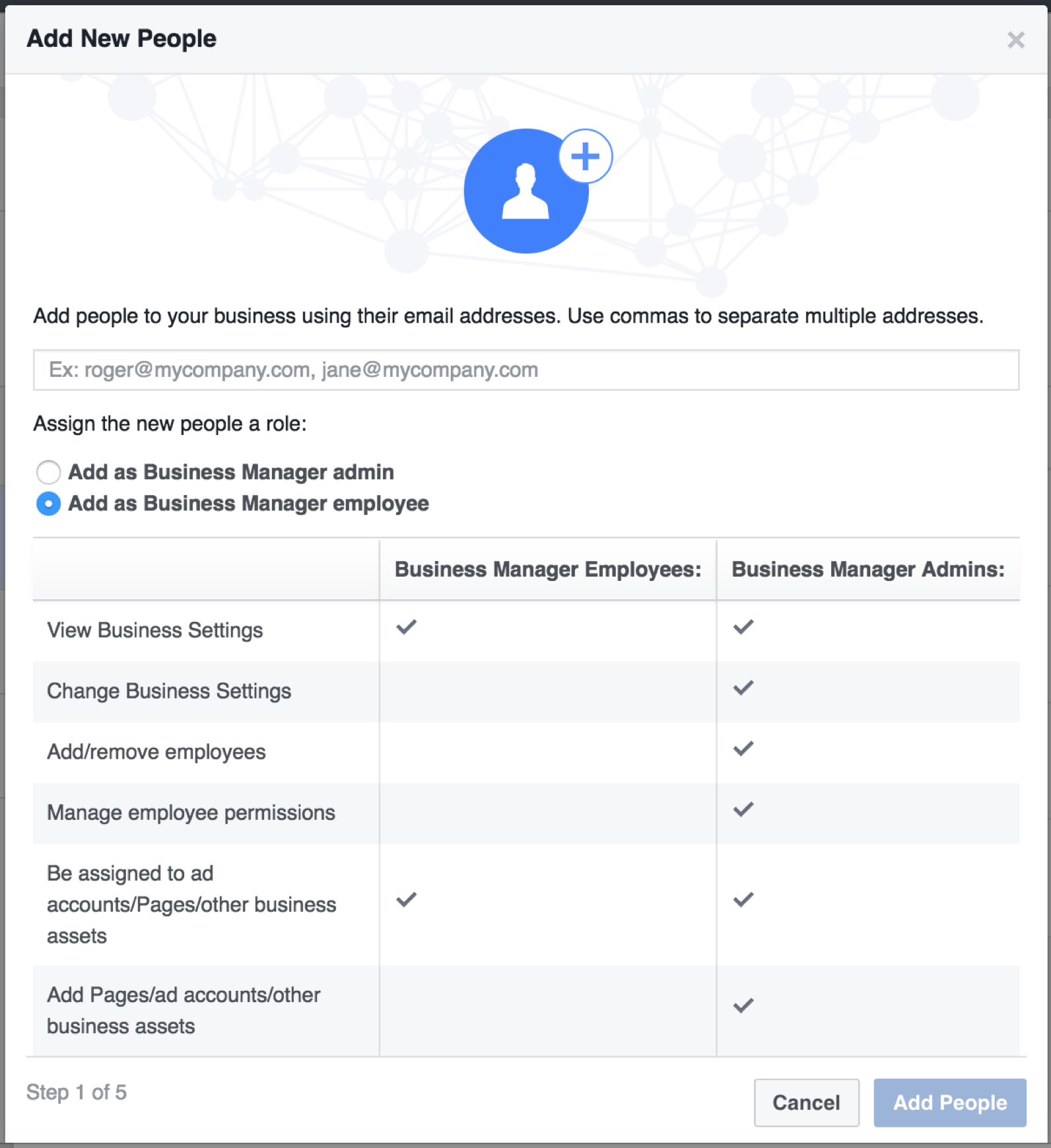 Facebook Business Manager - Add Users
