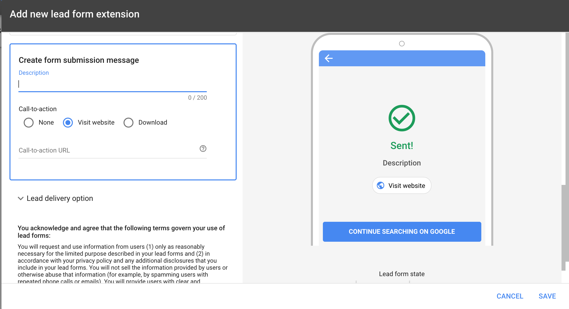 Google form ads - create submission message.png