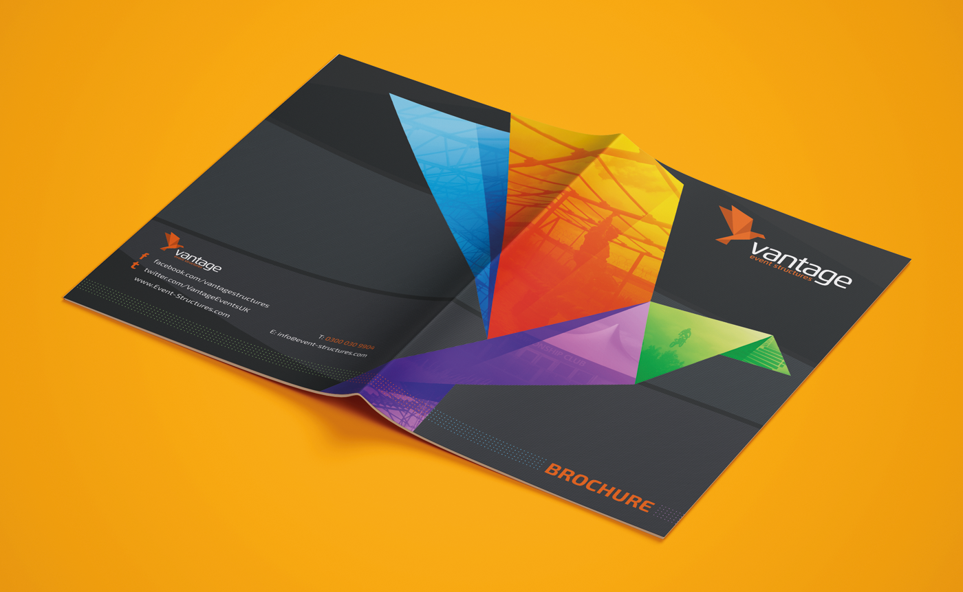 Brochure cover design
