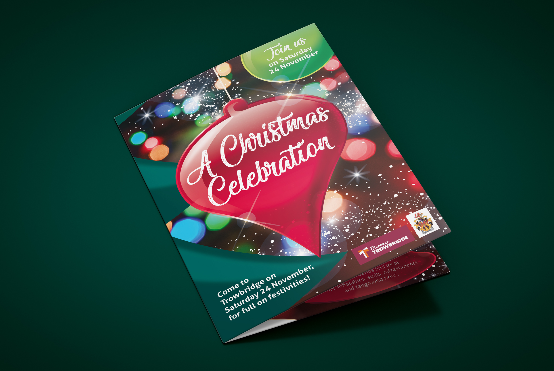 Christmas event leaflet.