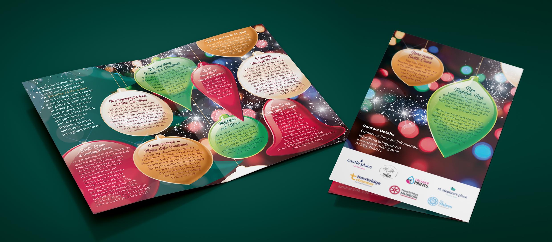 Christmas leaflet.