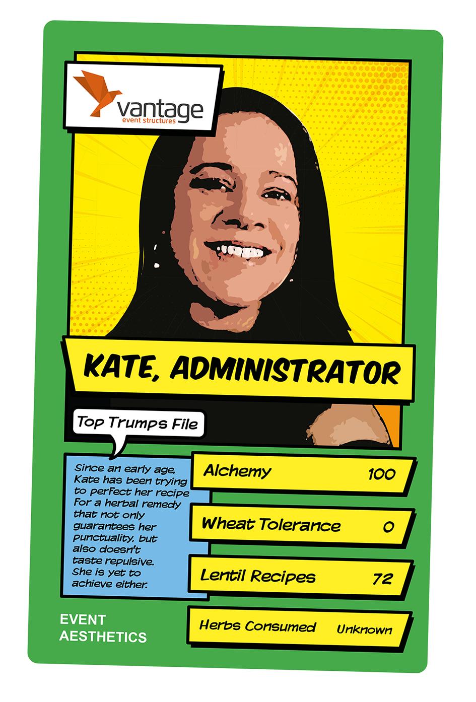 Top Trumps card design