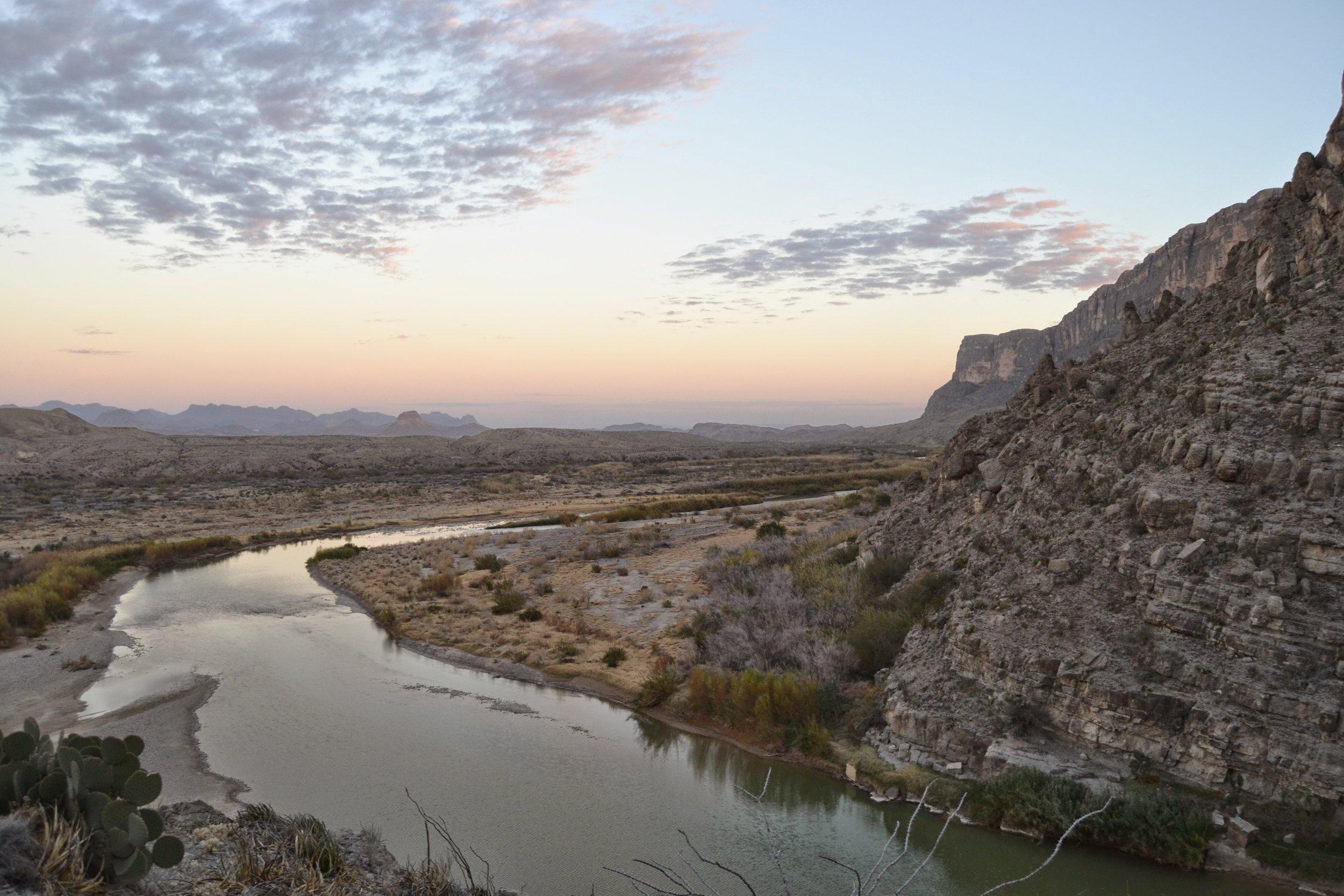 Santa Elena Canyon views
