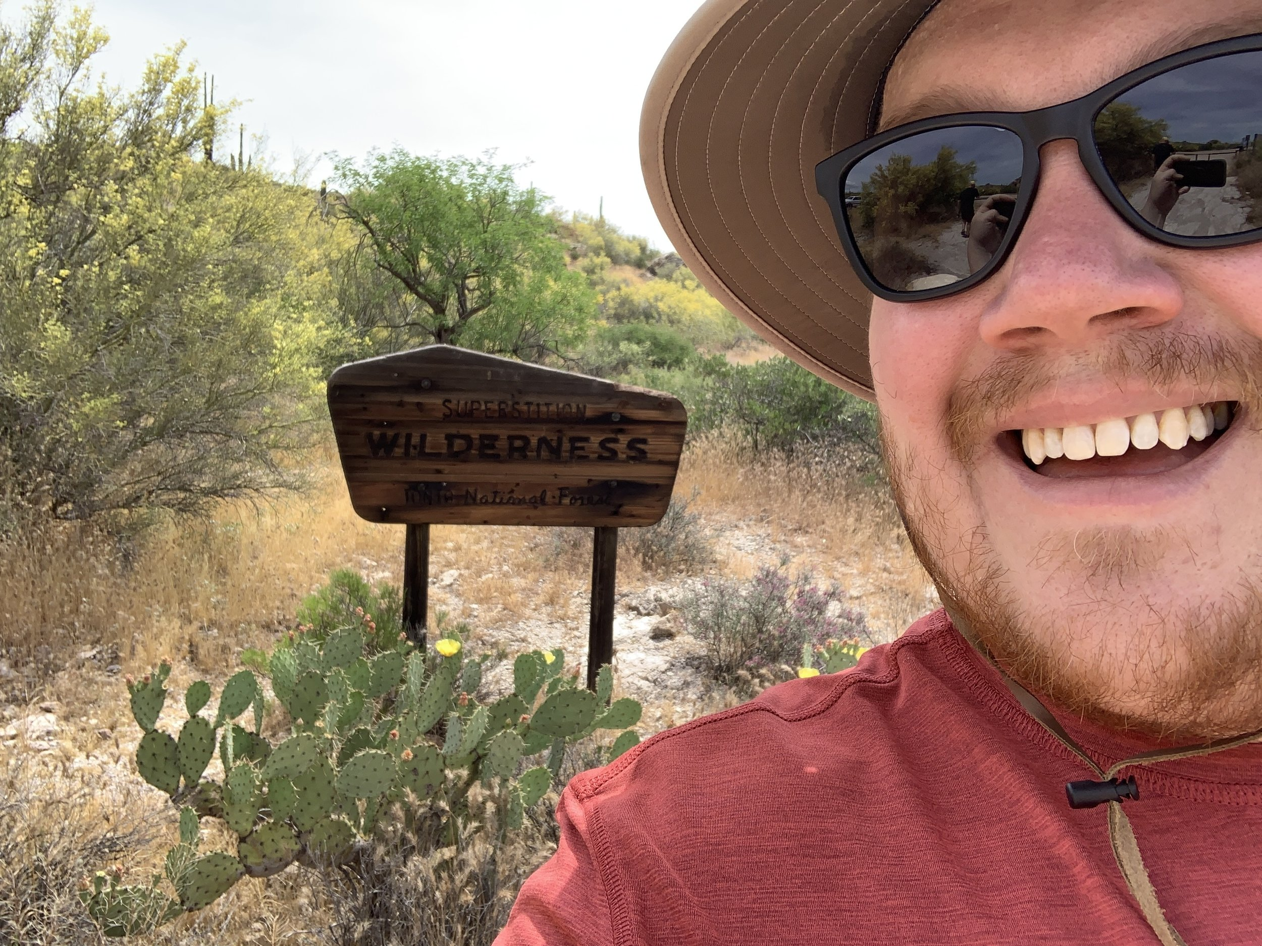 Hiking in the Tonto National Forest - Superstition Wilderness area w/ Scott Jones.