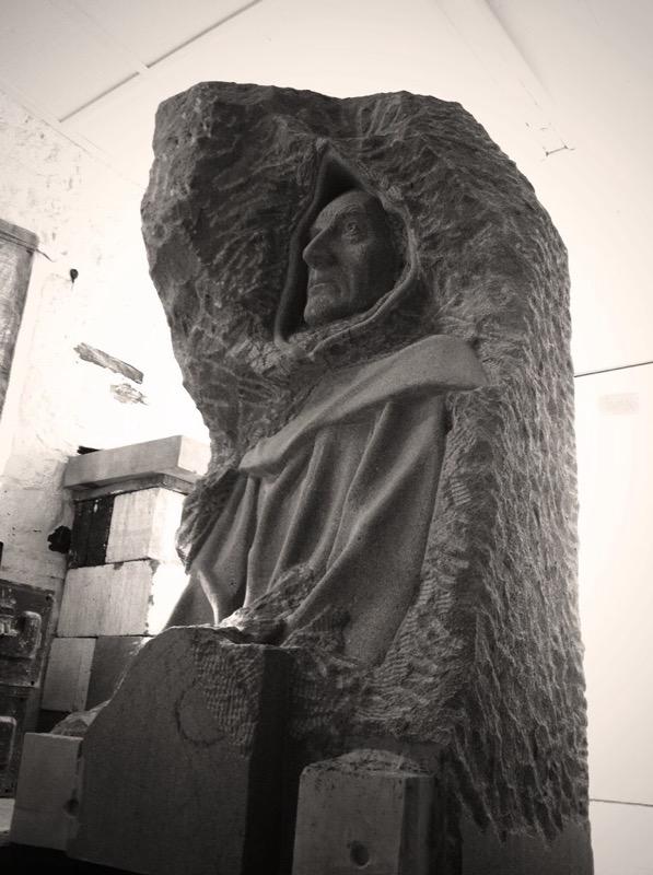 Monk in Yorkstone