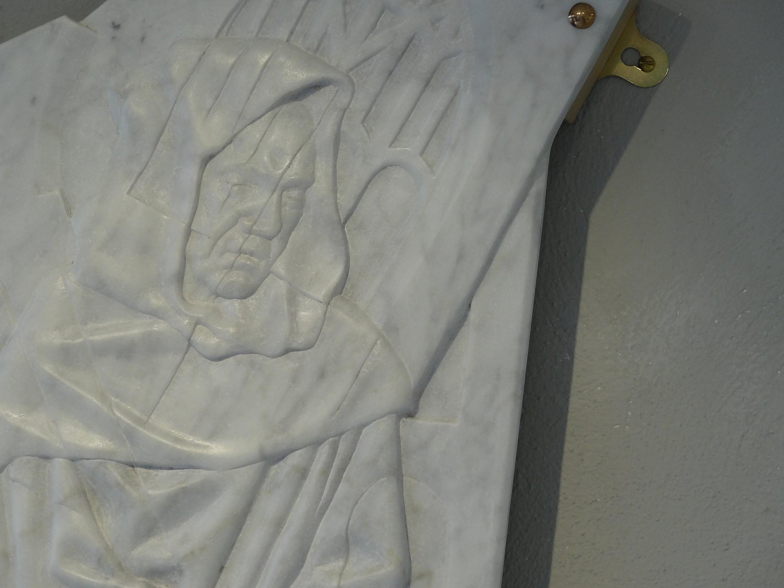 Dissolution II in Italian marble
