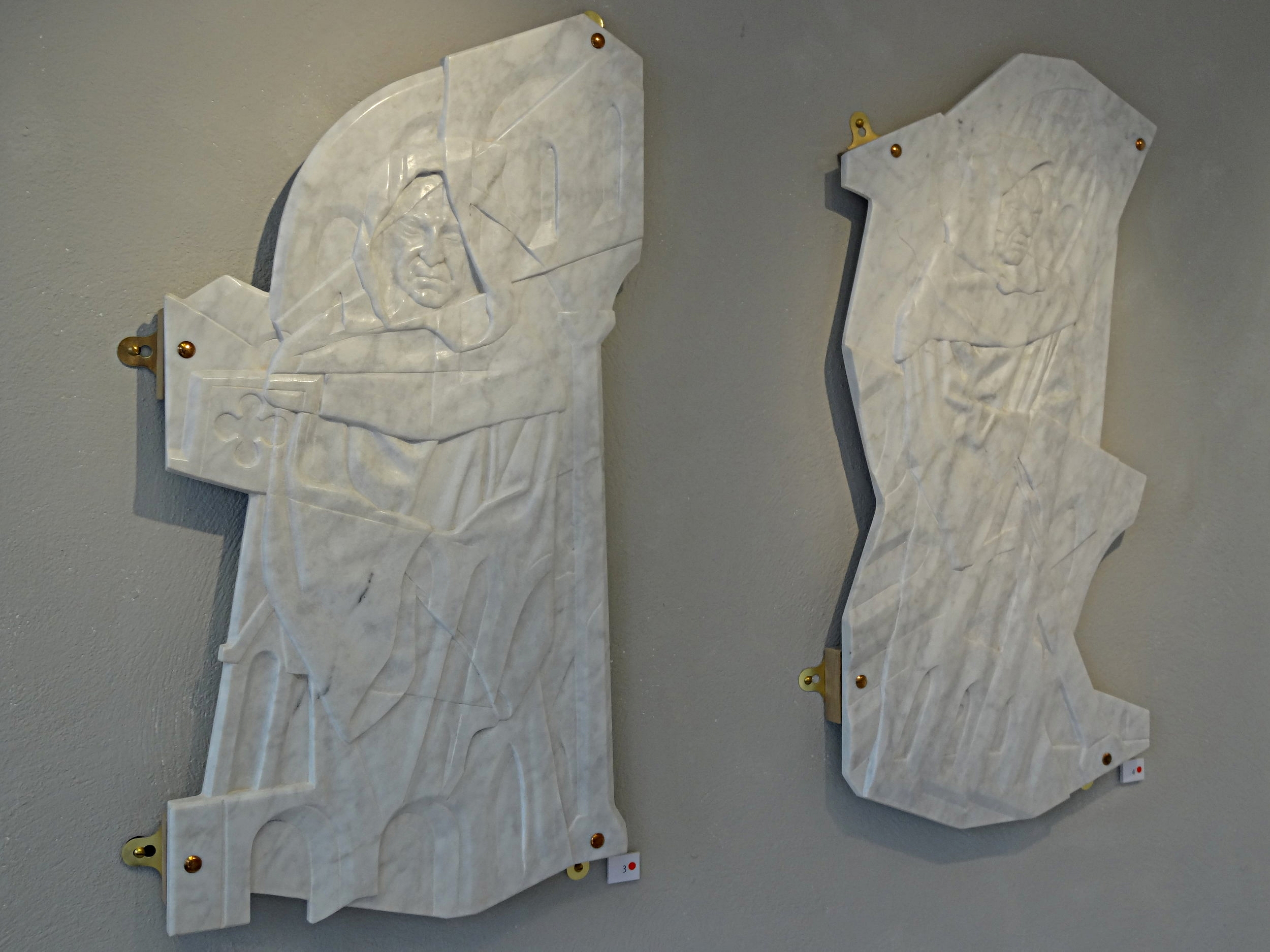 Dissolution I and II in Italinan marble