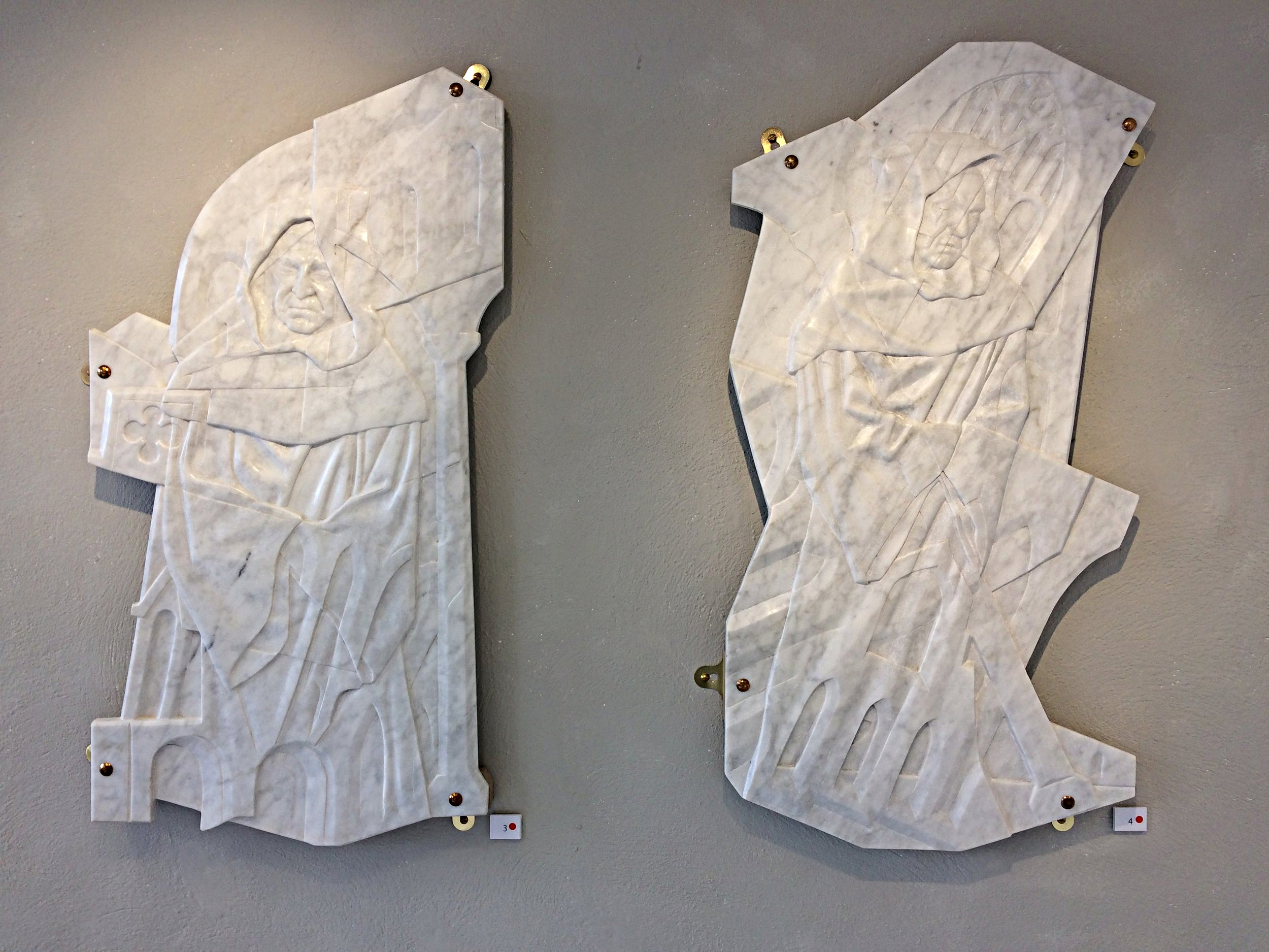 Dissolution I and II in Italian marble