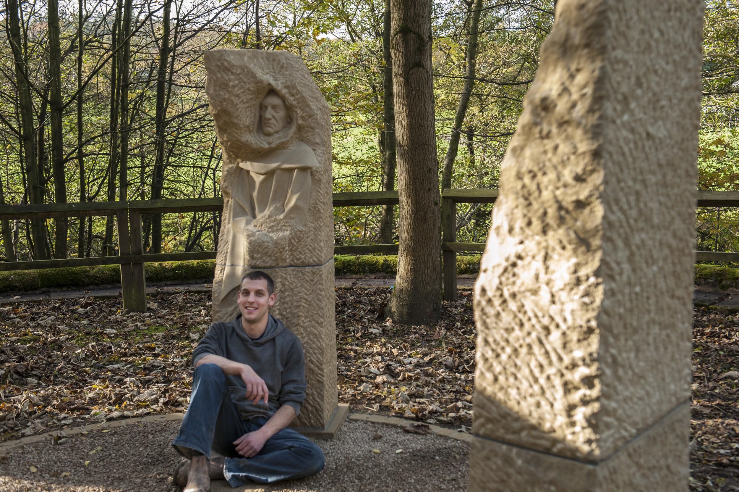 Joseph with Pillars Past - photo by Paul Harris