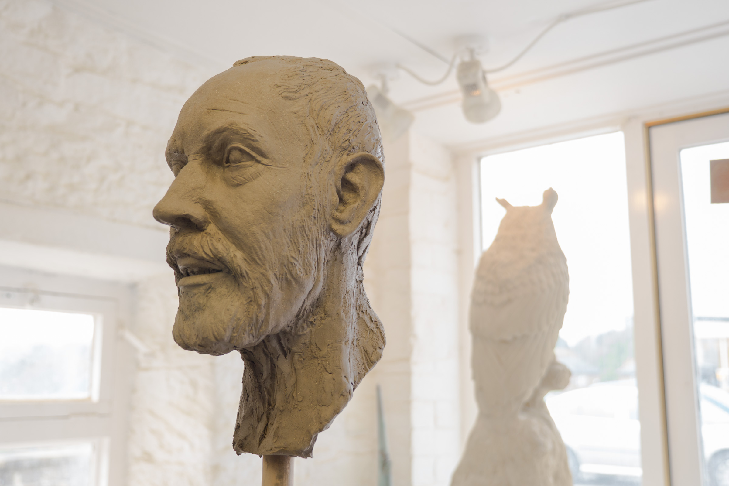 Clay Head of the miner - photo by Paul harris