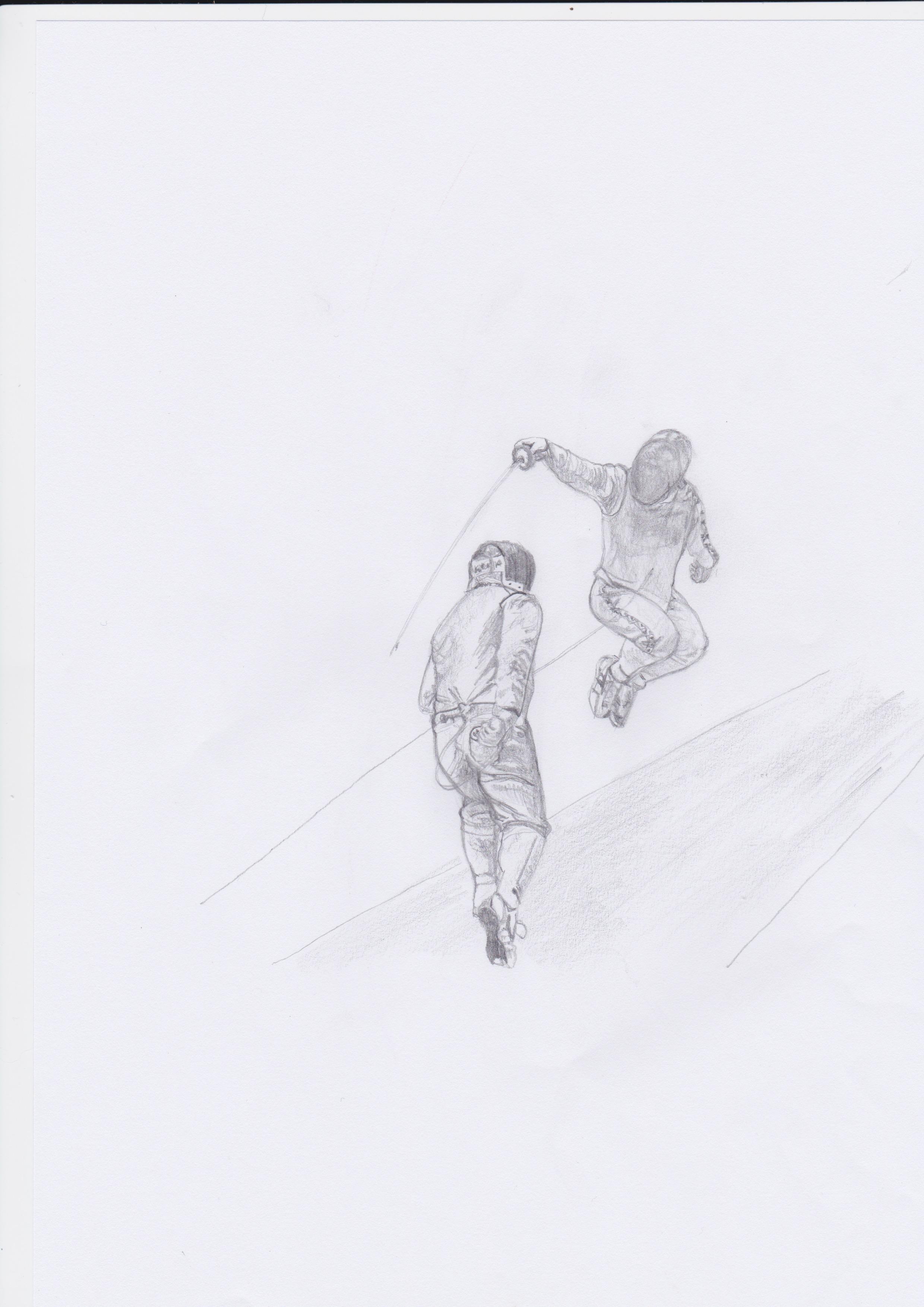 Fencing Sketch 2 by Gianna Colligiani .jpeg